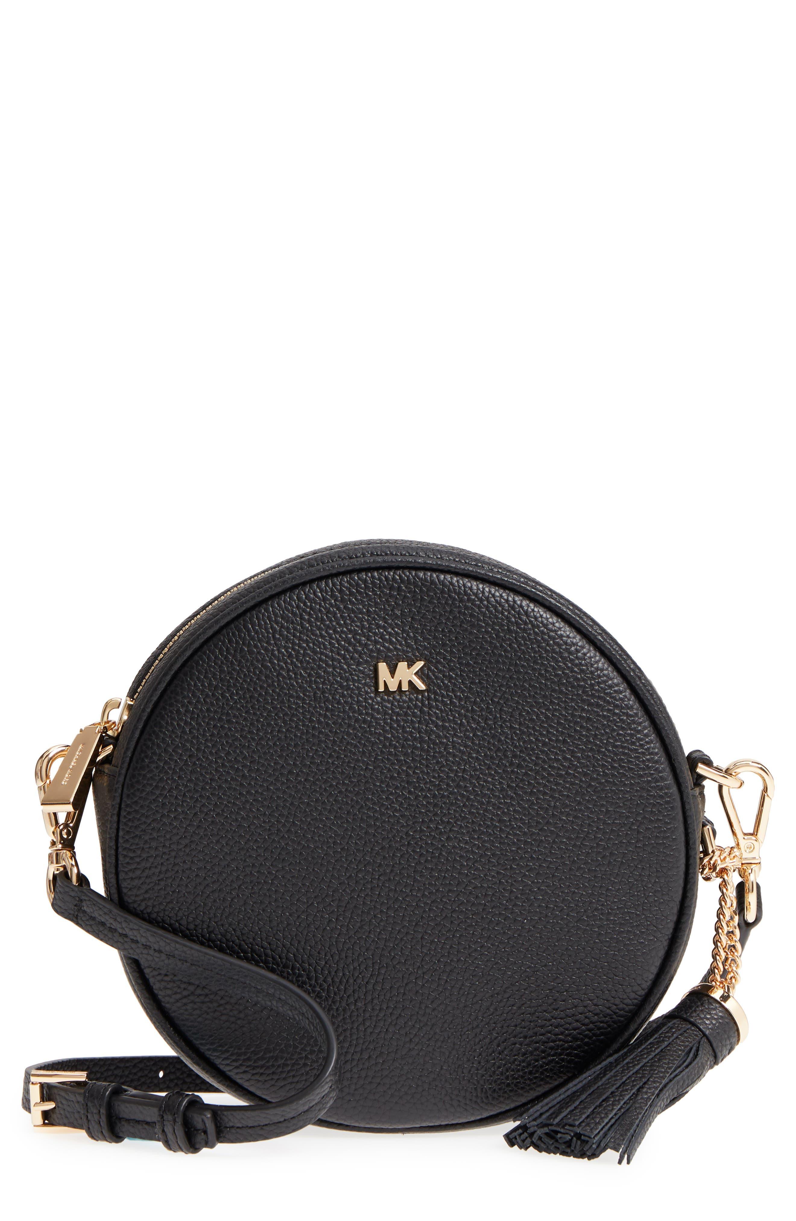 Medium Leather Canteen Bag,                         Main,                         color,