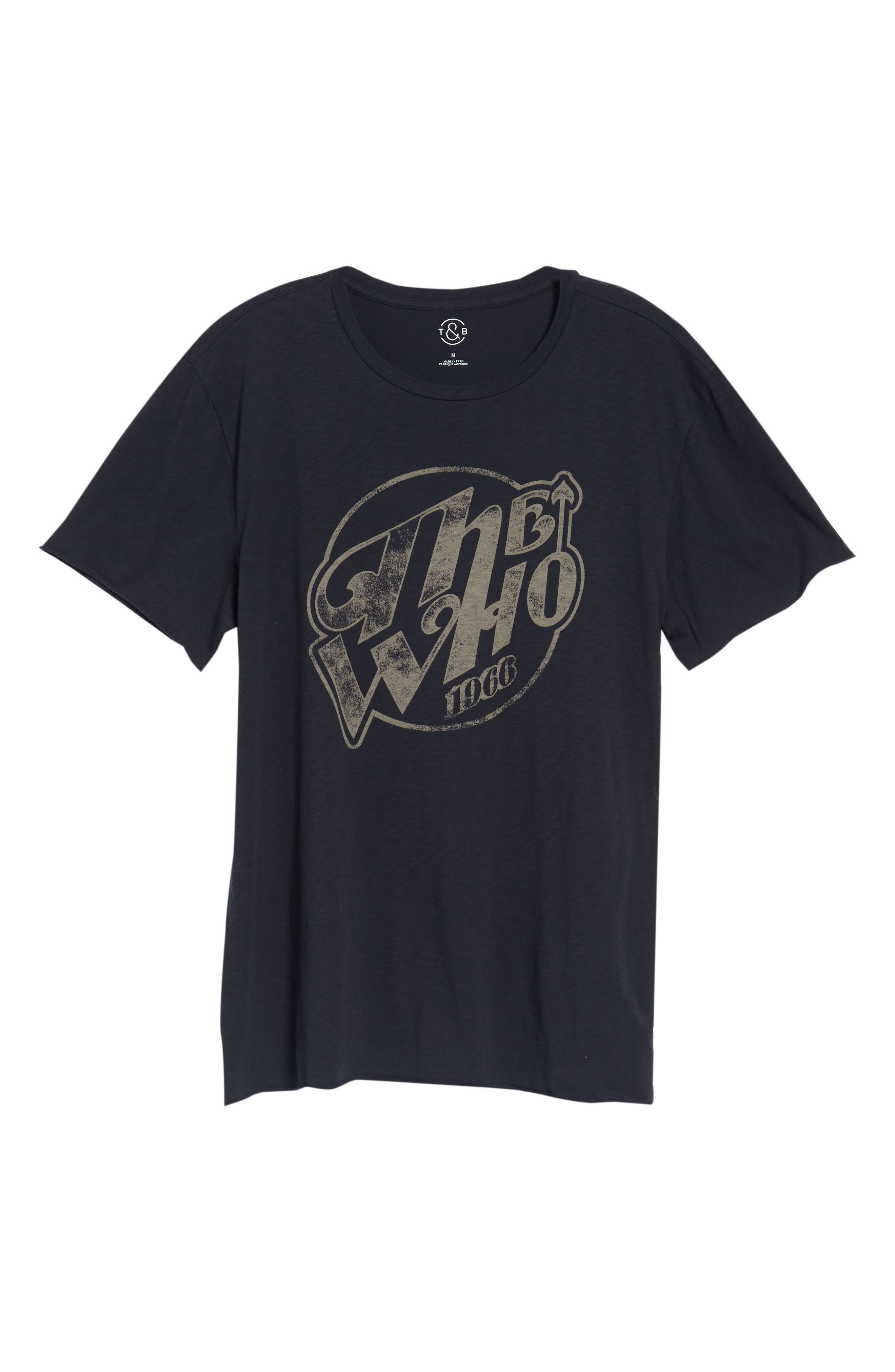 The Who Trim Fit T-Shirt,                             Alternate thumbnail 6, color,