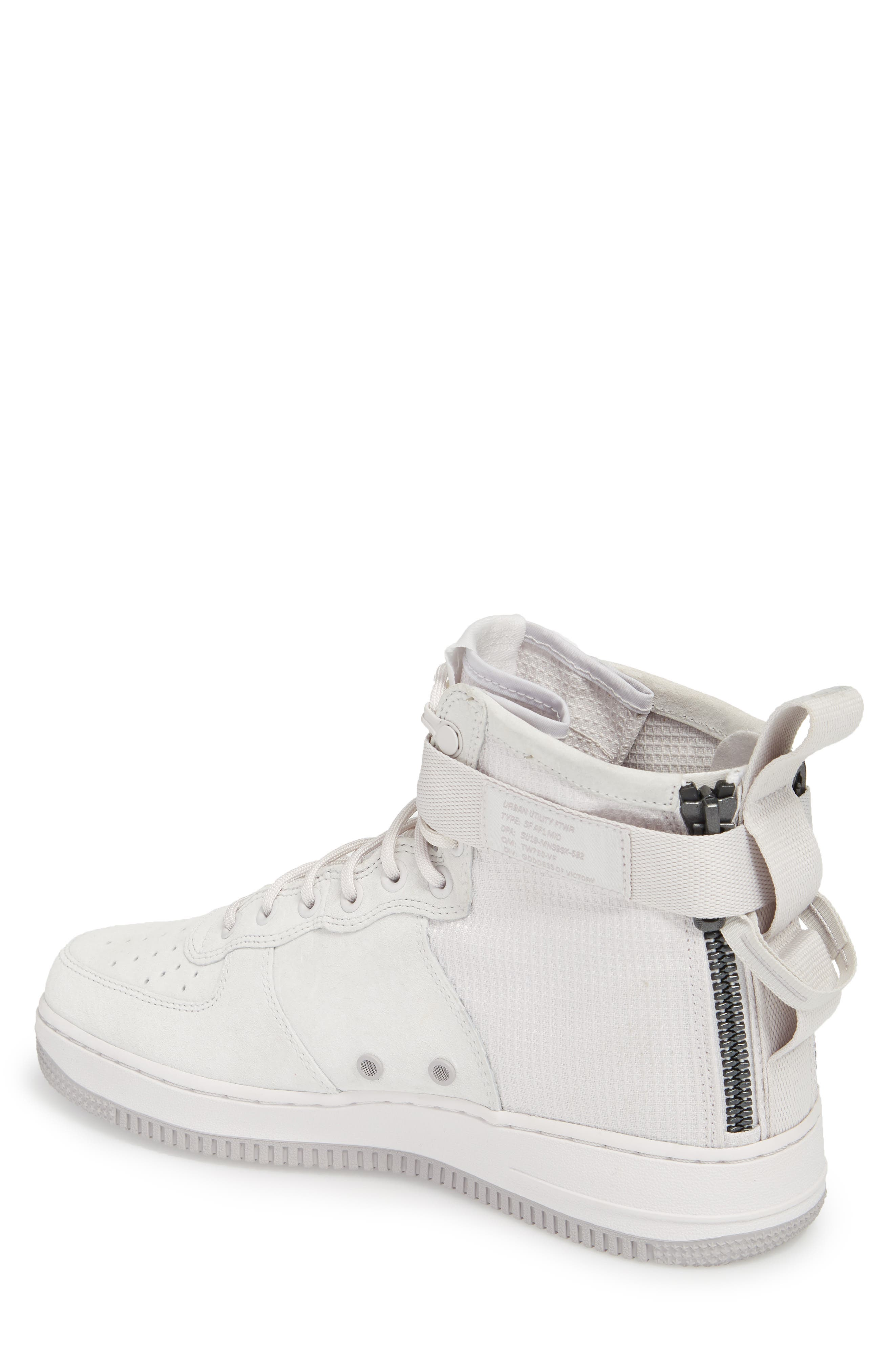 SF Air Force 1 Mid Suede Sneaker,                             Alternate thumbnail 2, color,                             021