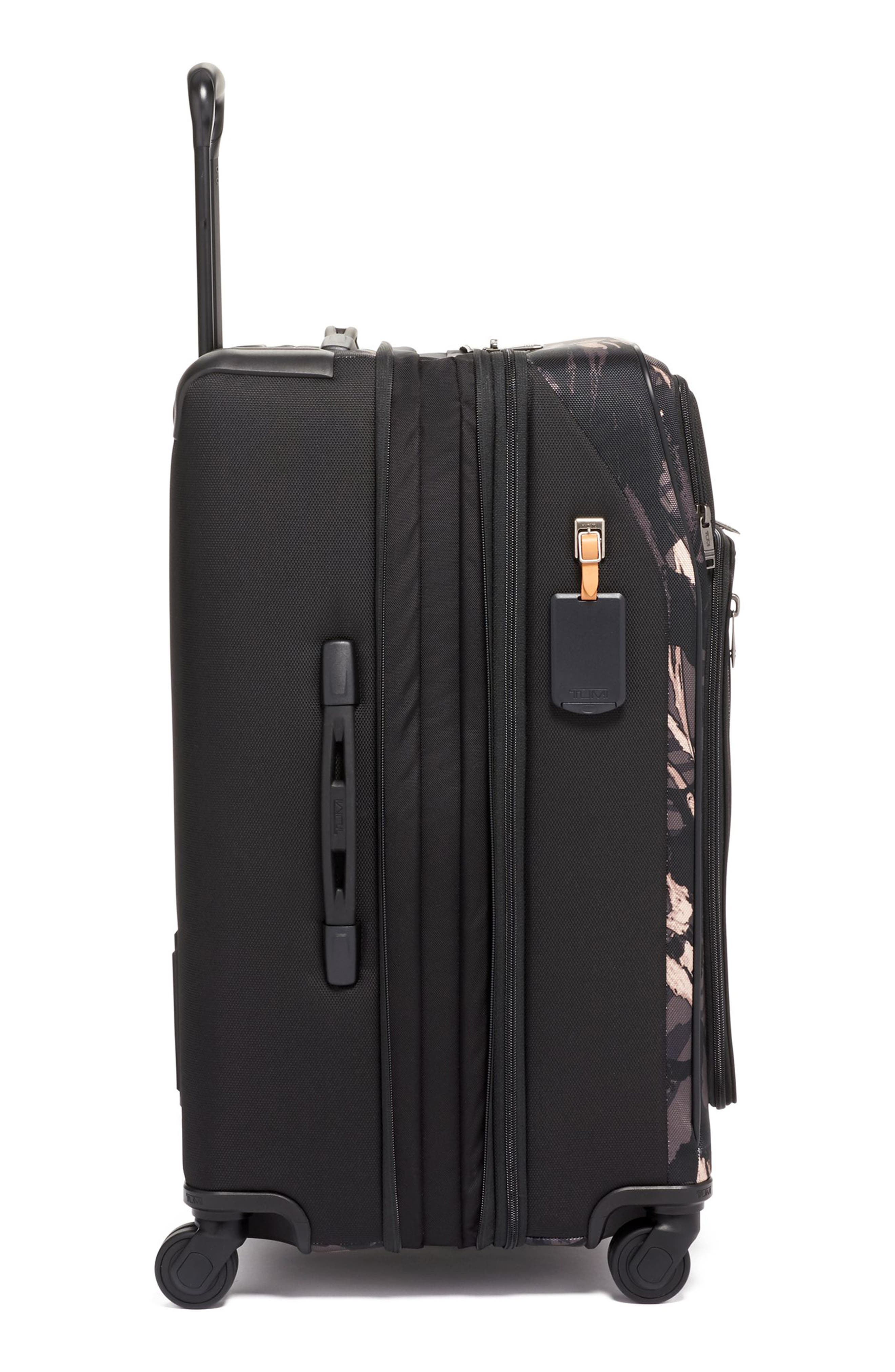 Merge Short Trip Expandable Rolling Packing Case,                             Alternate thumbnail 3, color,                             GREY HIGHLANDS PRINT