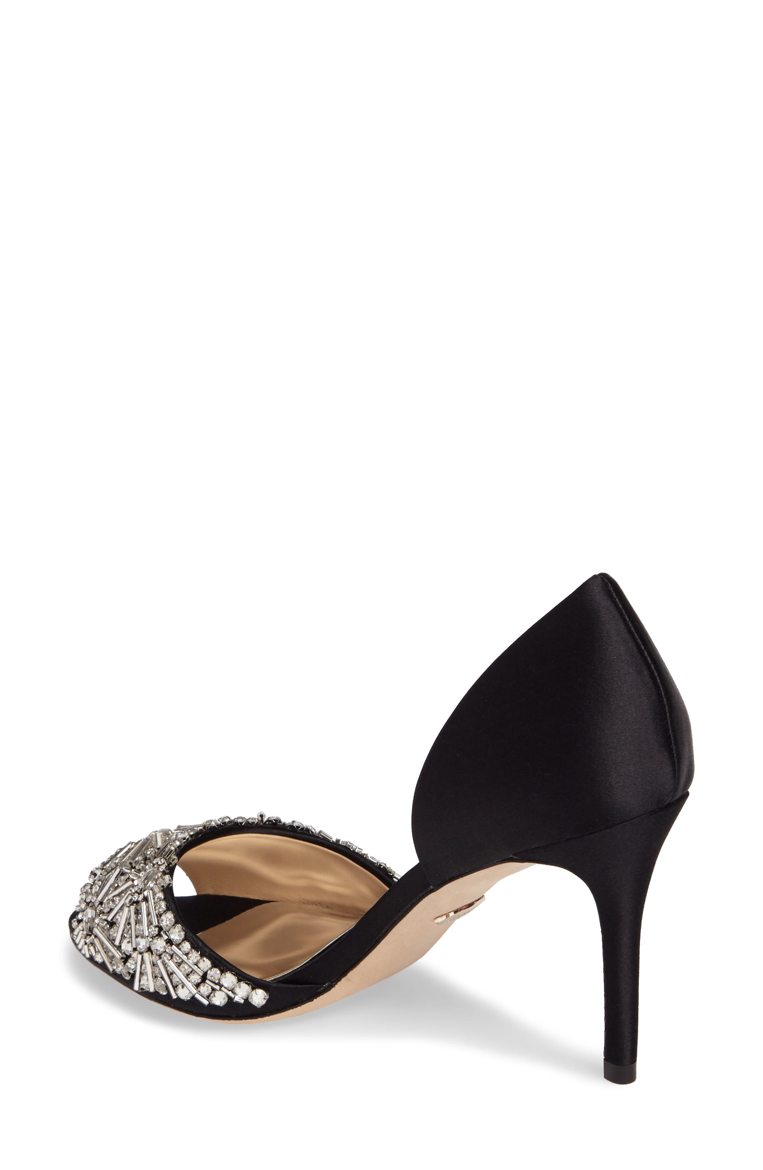 Maria Embellished d'Orsay Pump,                             Alternate thumbnail 7, color,