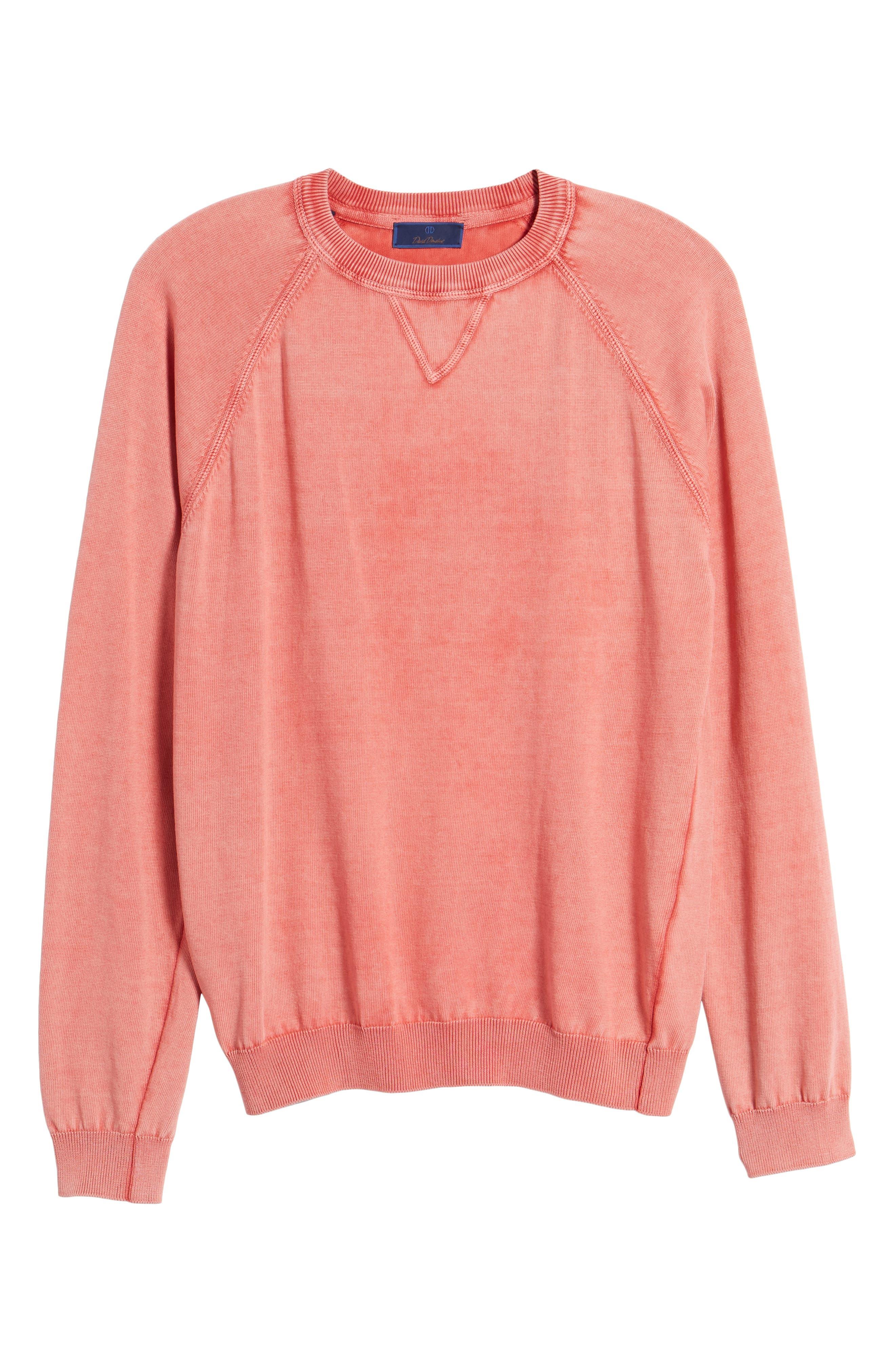 Stonewash Cotton Sweatshirt,                             Alternate thumbnail 6, color,                             842