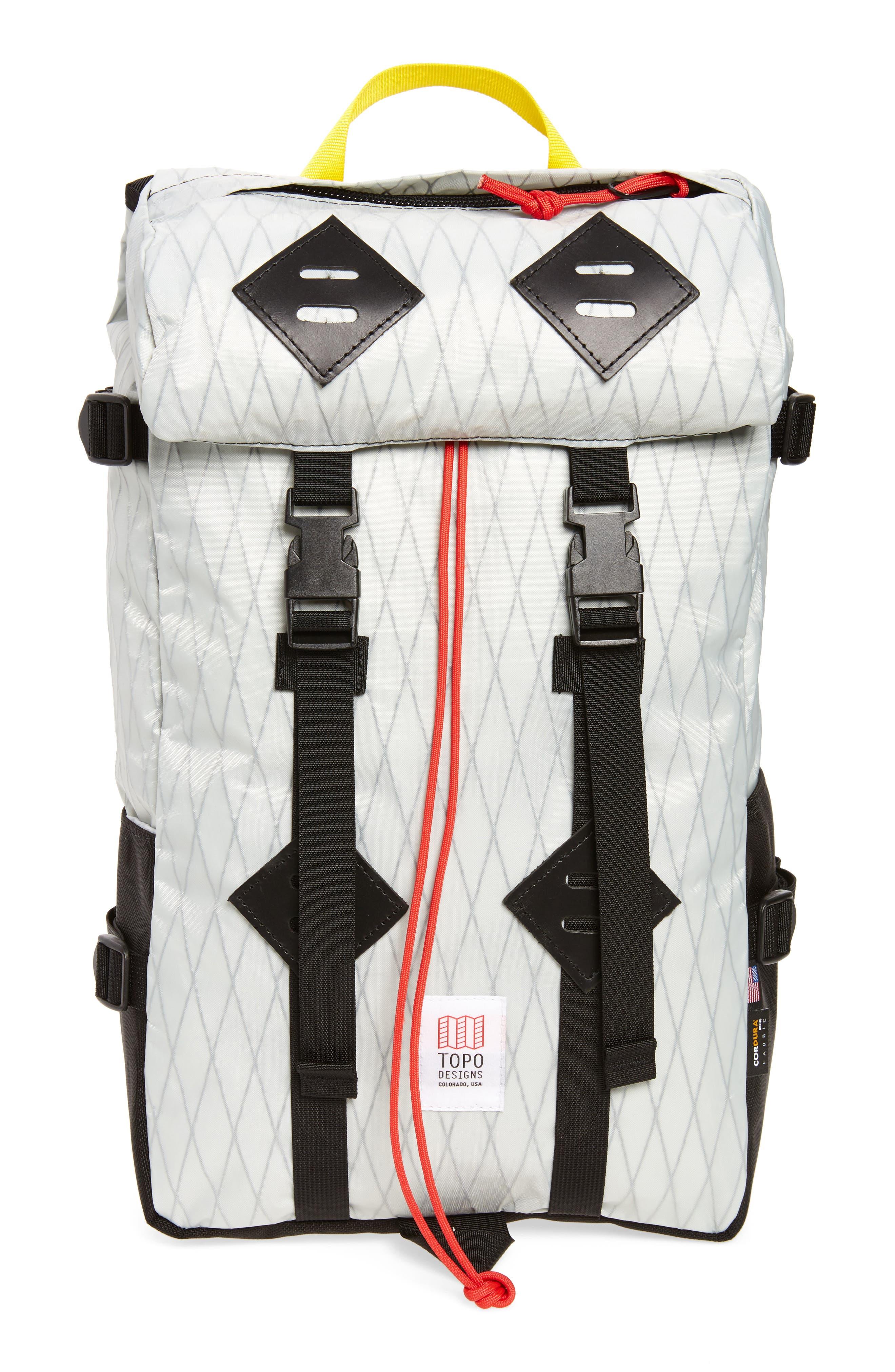 Klettersack Backpack,                         Main,                         color, X-PACK/ BALLISTIC BLACK