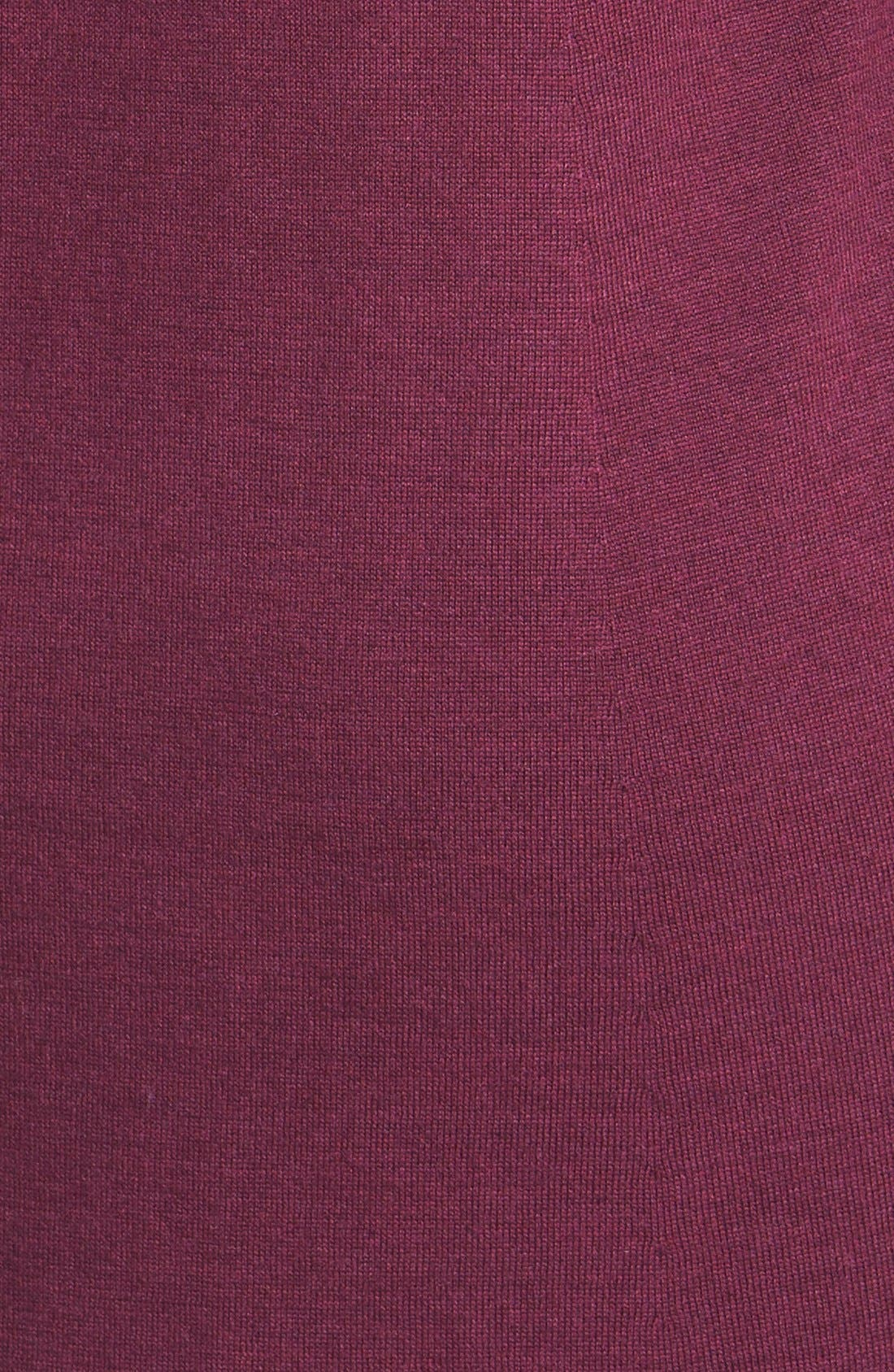 Lightweight Merino Jersey V-Neck Tunic,                             Alternate thumbnail 104, color,