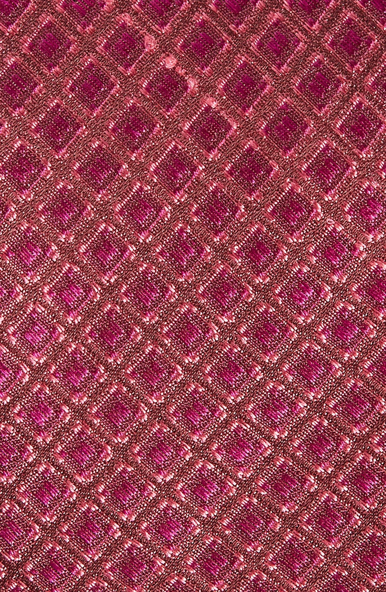 Denberg Check Silk Tie,                             Alternate thumbnail 8, color,