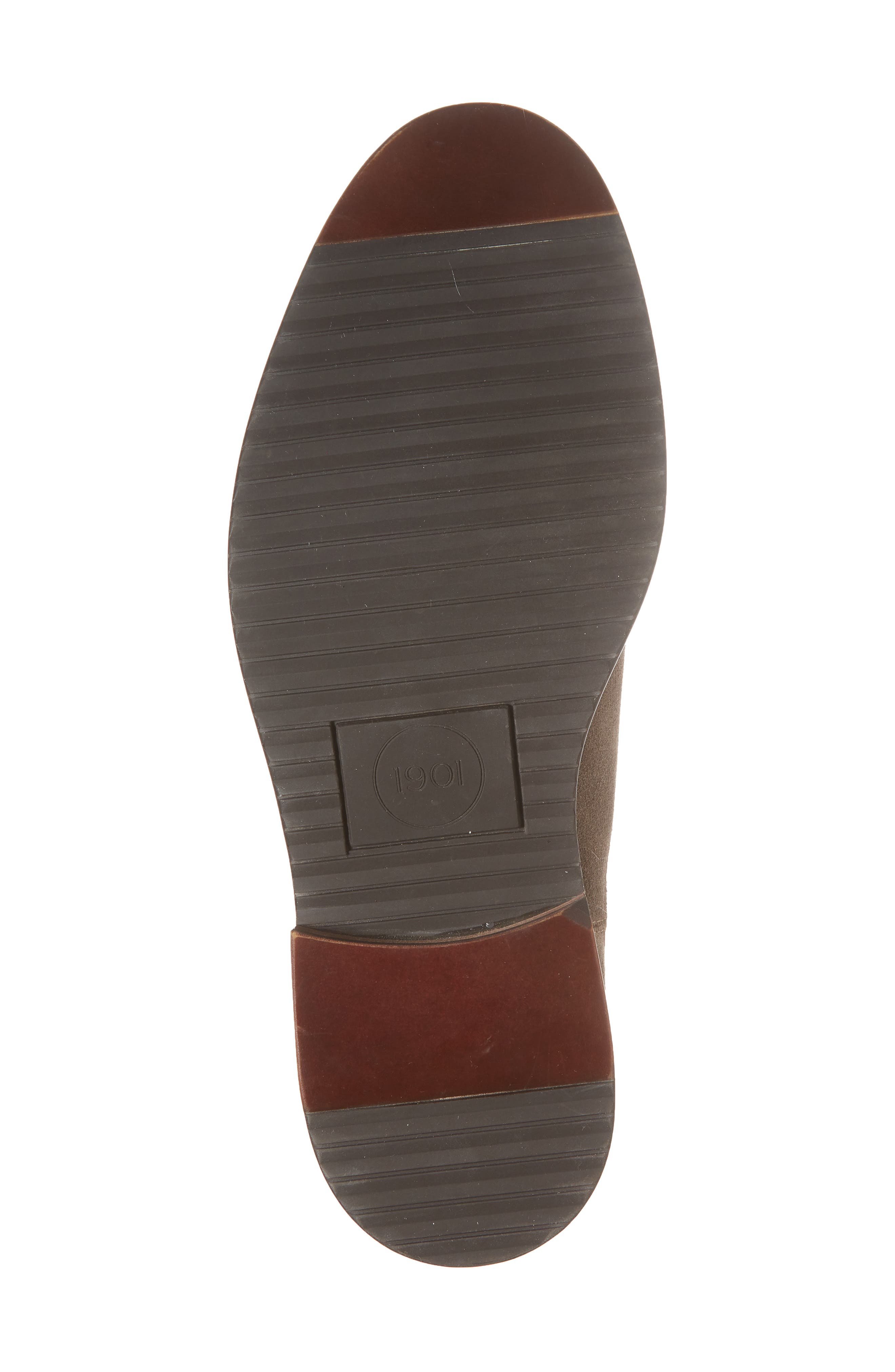 Brooks Chelsea Boot,                             Alternate thumbnail 6, color,                             TAUPE SUEDE