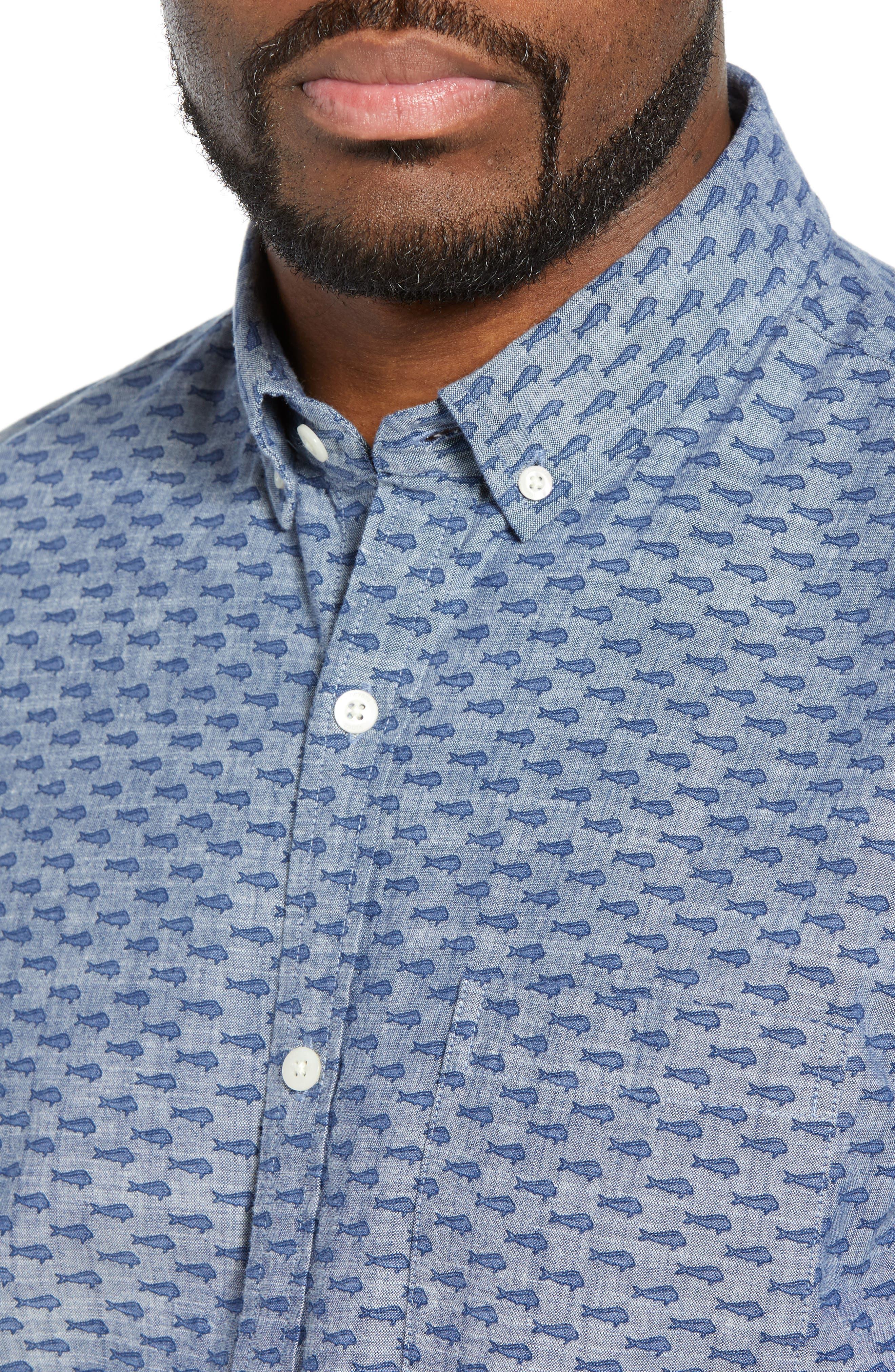 VINEYARD VINES,                             Murray Slim Fit Sport Shirt,                             Alternate thumbnail 2, color,                             SKYFALL