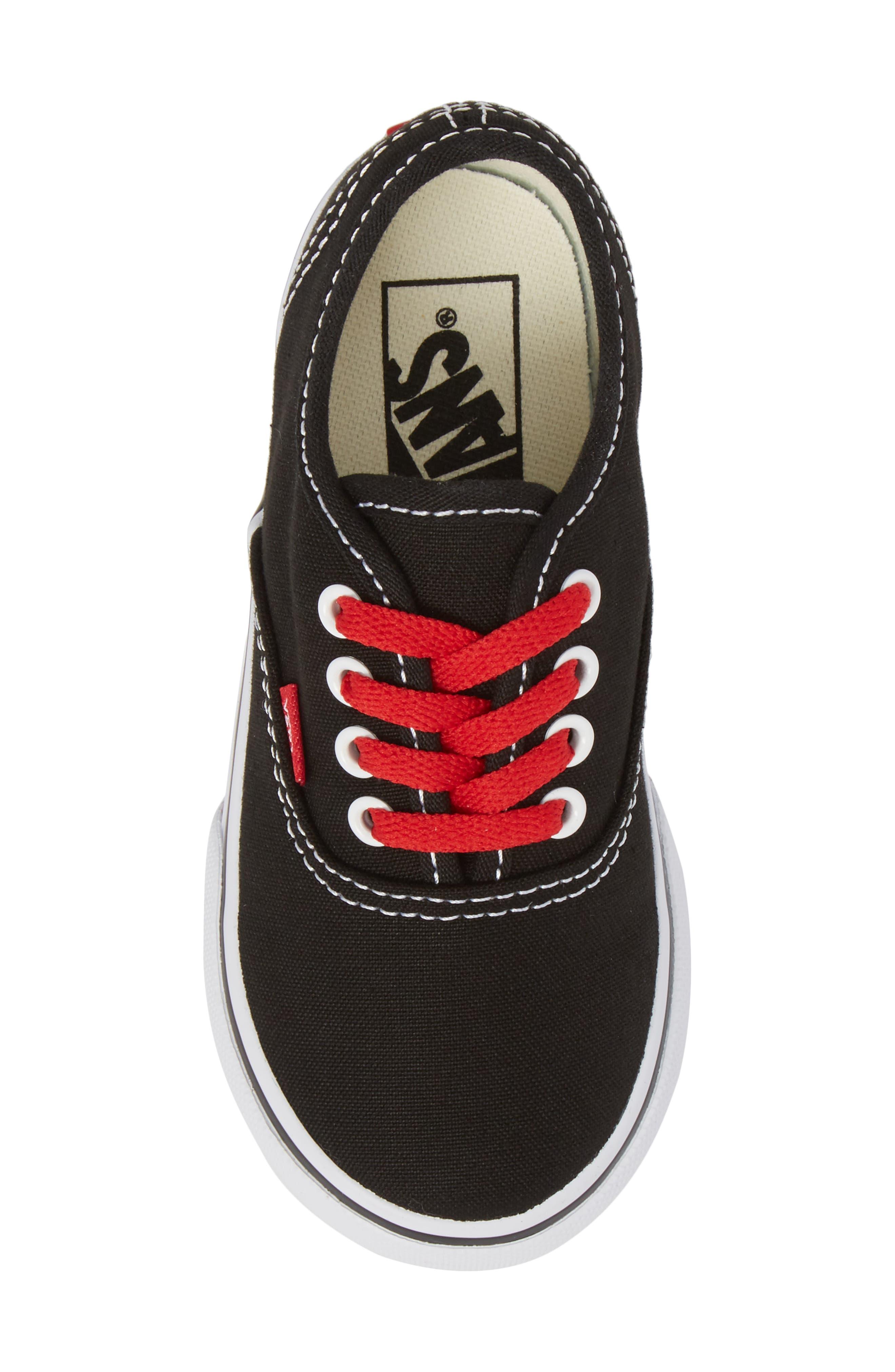 Authentic Sketch Sneaker,                             Alternate thumbnail 5, color,                             001