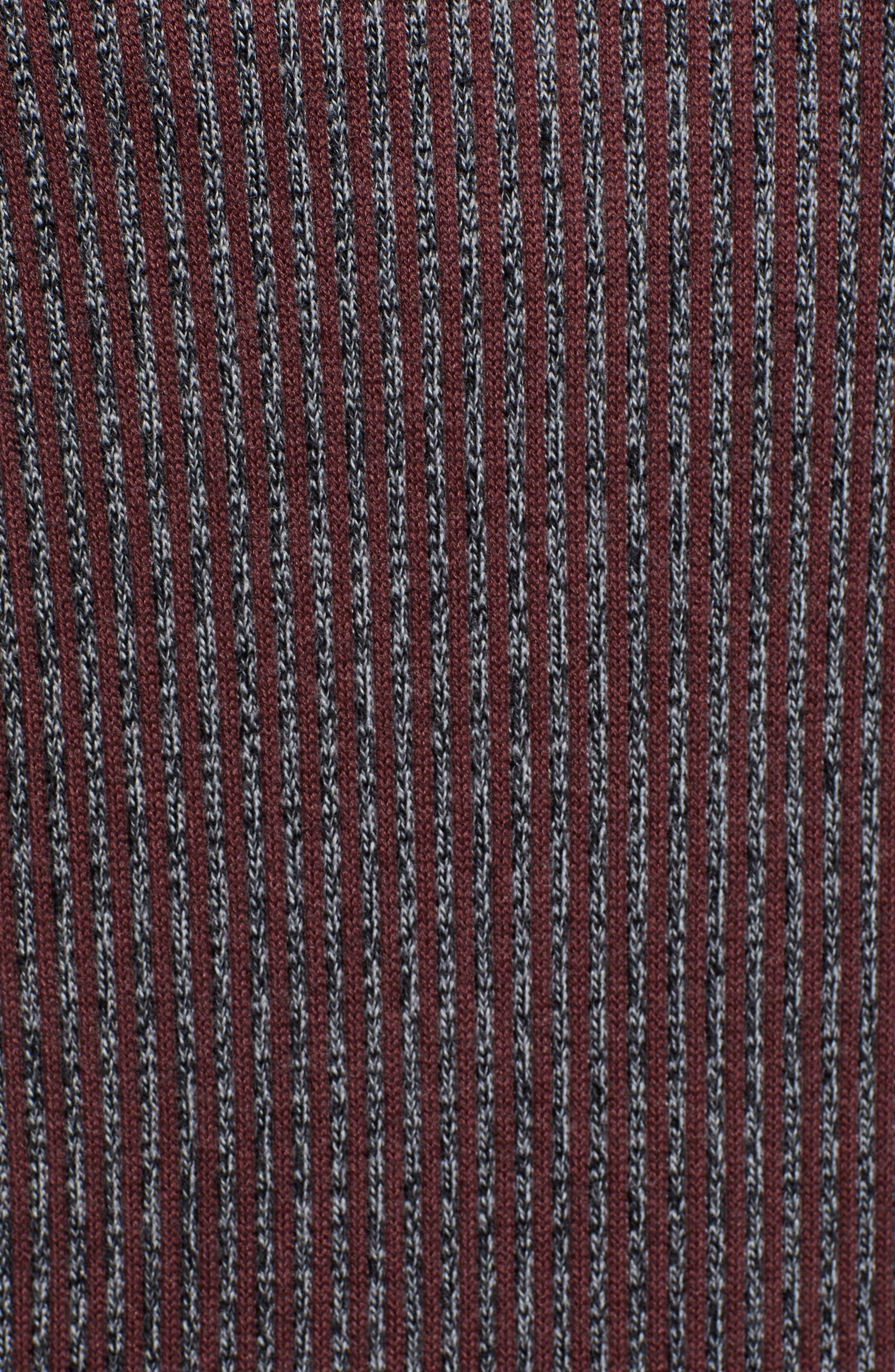 Jinxitt Crewneck Sweater,                             Alternate thumbnail 5, color,                             DEEP-PINK