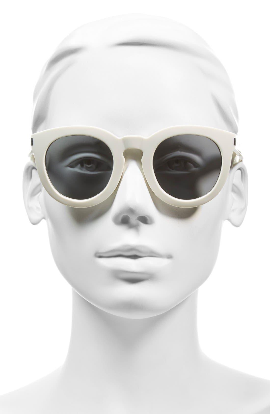 '102 Surf' 47mm Retro Sunglasses,                             Alternate thumbnail 8, color,
