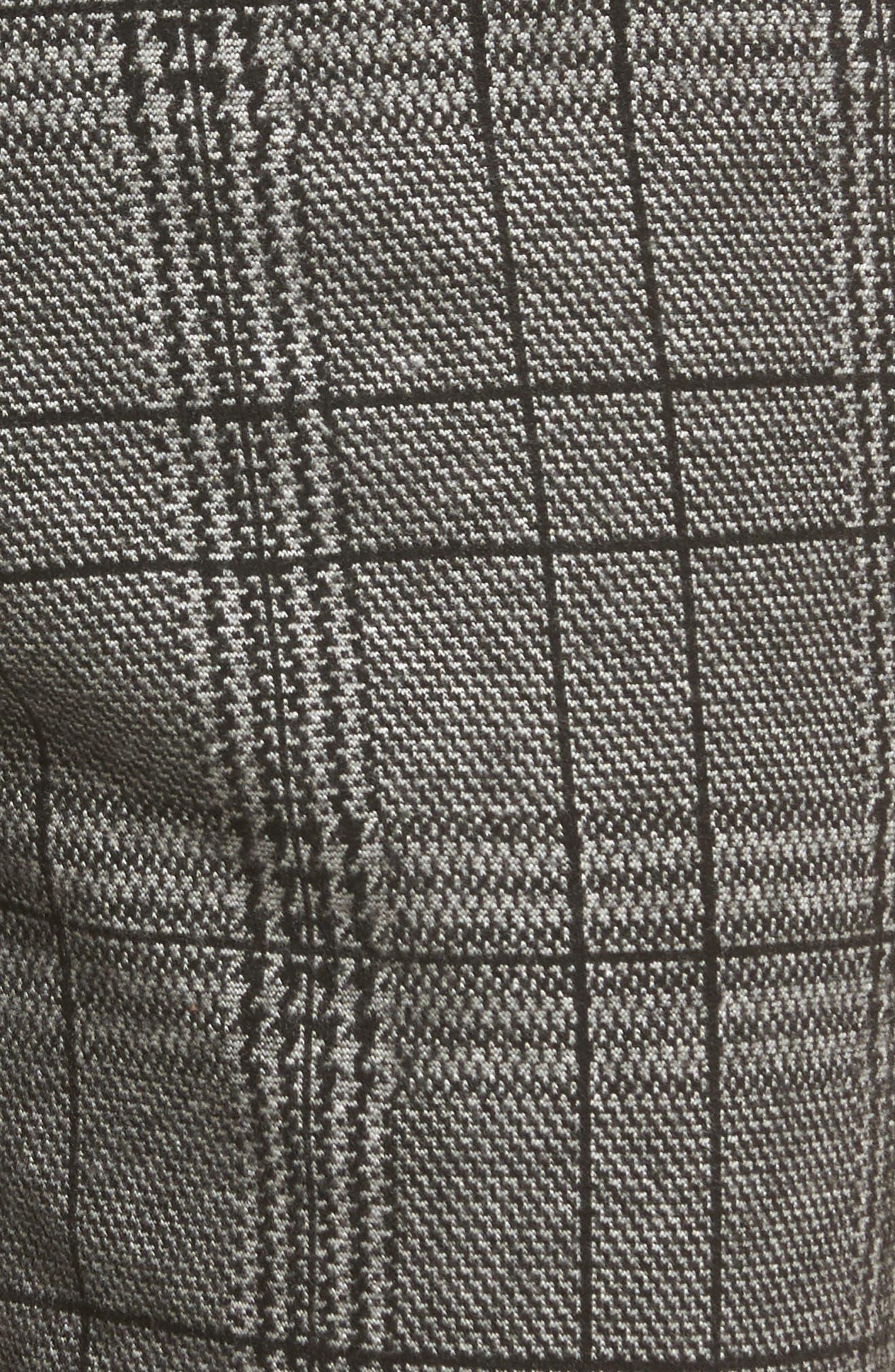 Check Plaid Trousers,                             Alternate thumbnail 5, color,                             002