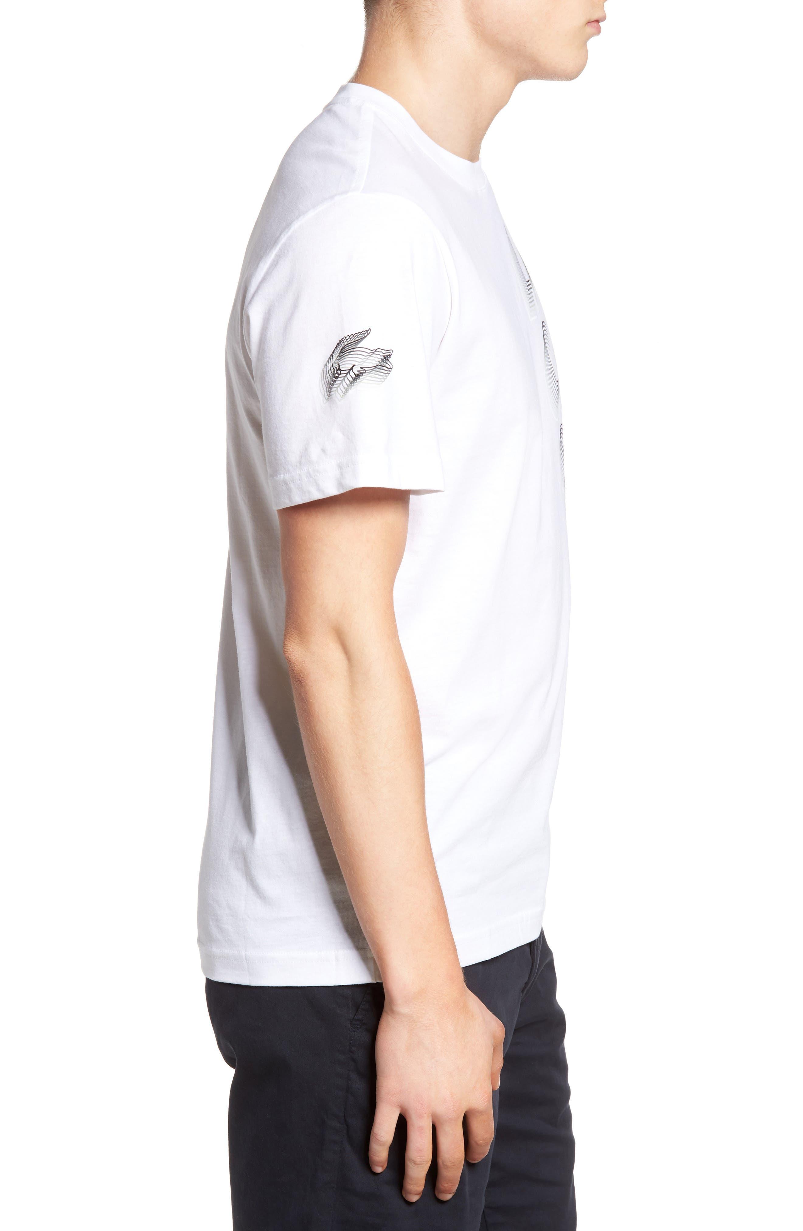 3D Print Logo Graphic T-Shirt,                             Alternate thumbnail 15, color,