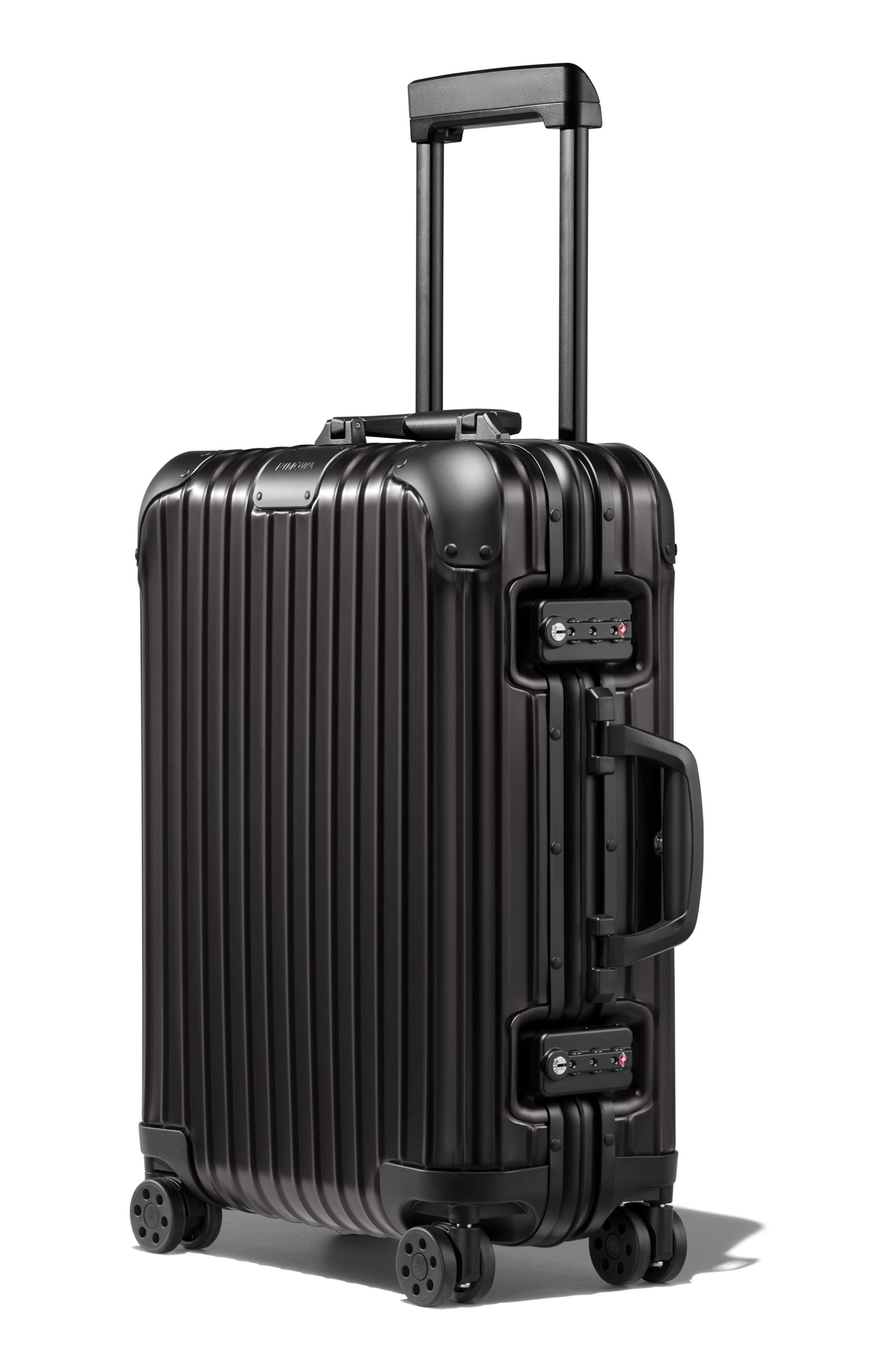 Original Cabin 22-Inch Packing Case,                             Alternate thumbnail 4, color,                             BLACK