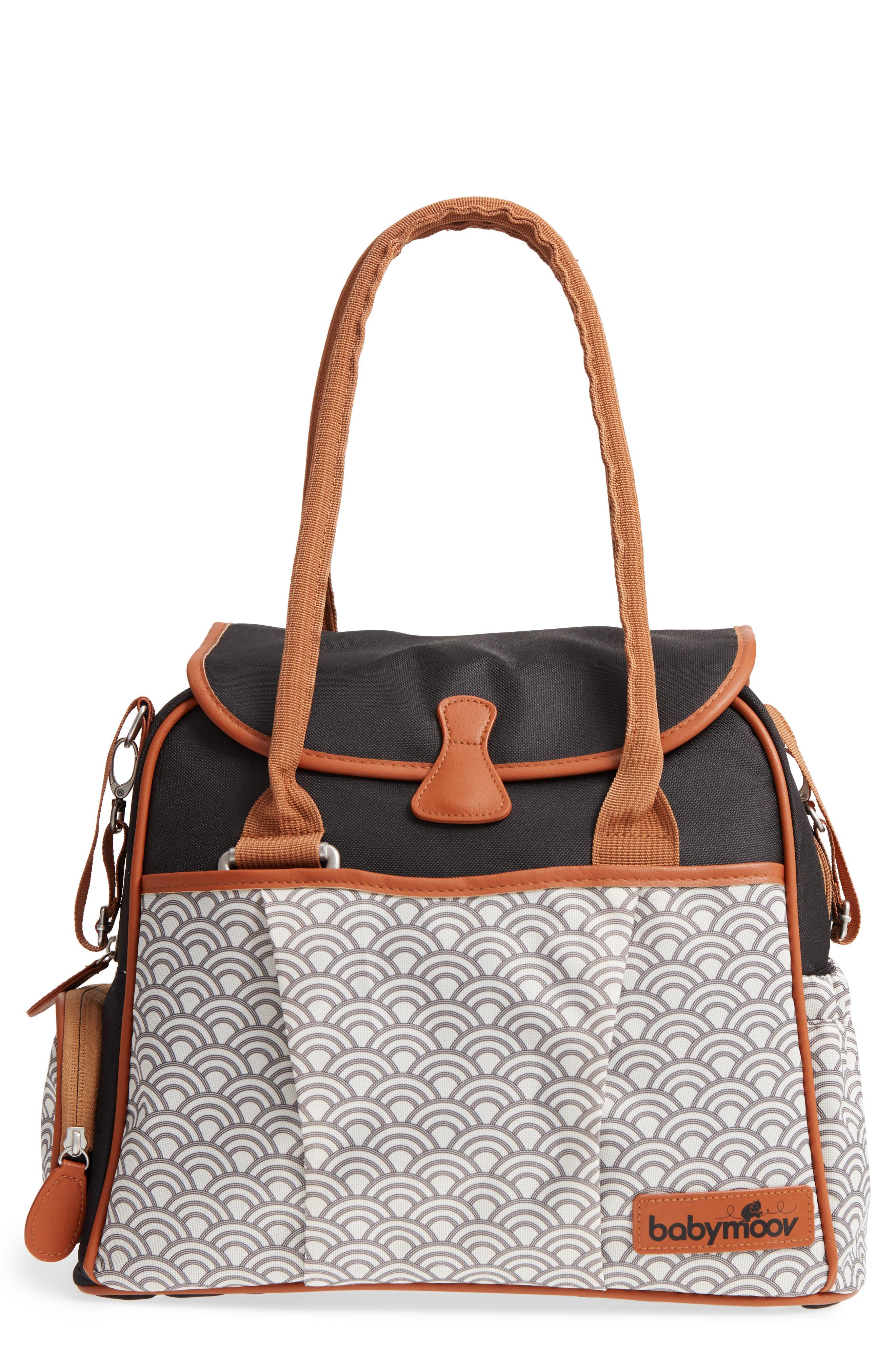Style Diaper Bag,                         Main,                         color, BLACK