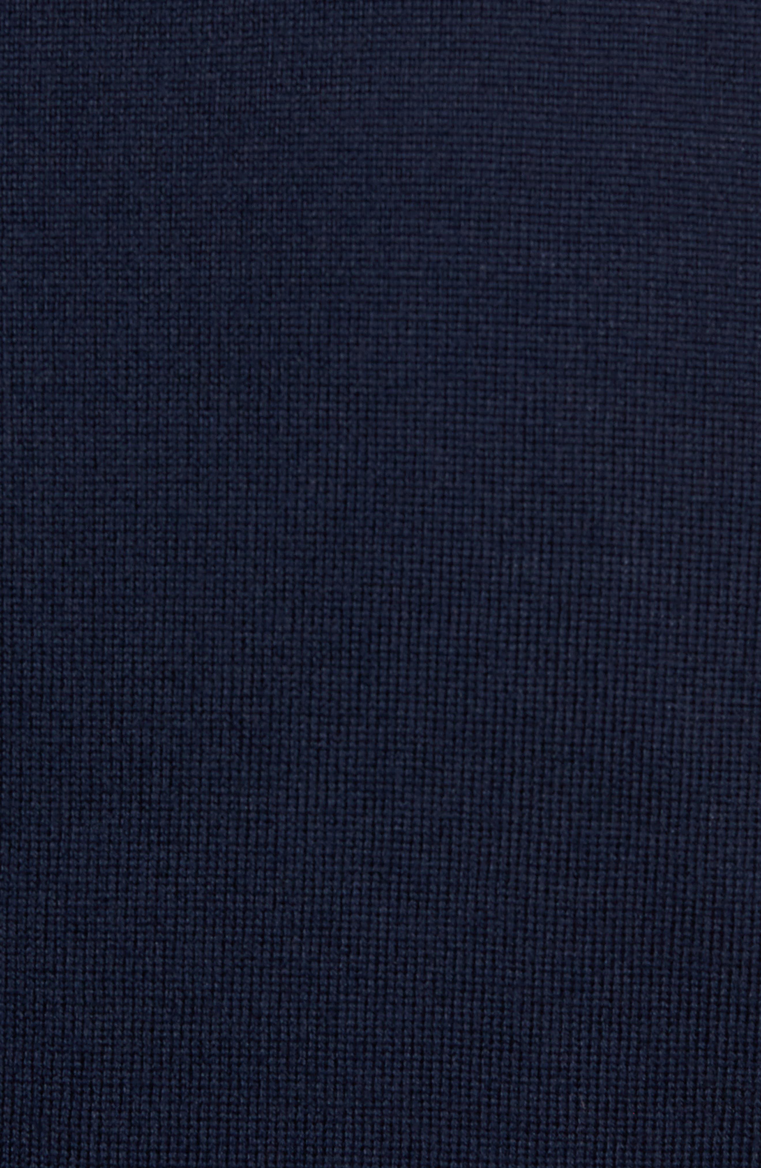 Oversize Plaid Wool Vest,                             Alternate thumbnail 10, color,