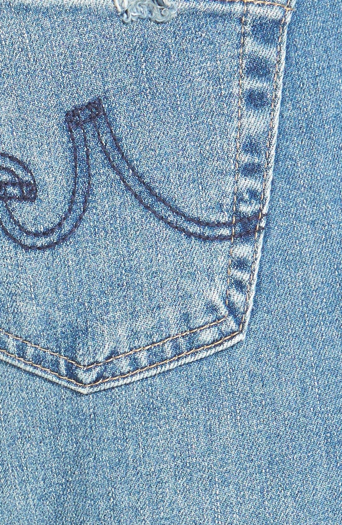 'Stilt' Cigarette Leg Jeans,                             Alternate thumbnail 4, color,                             427