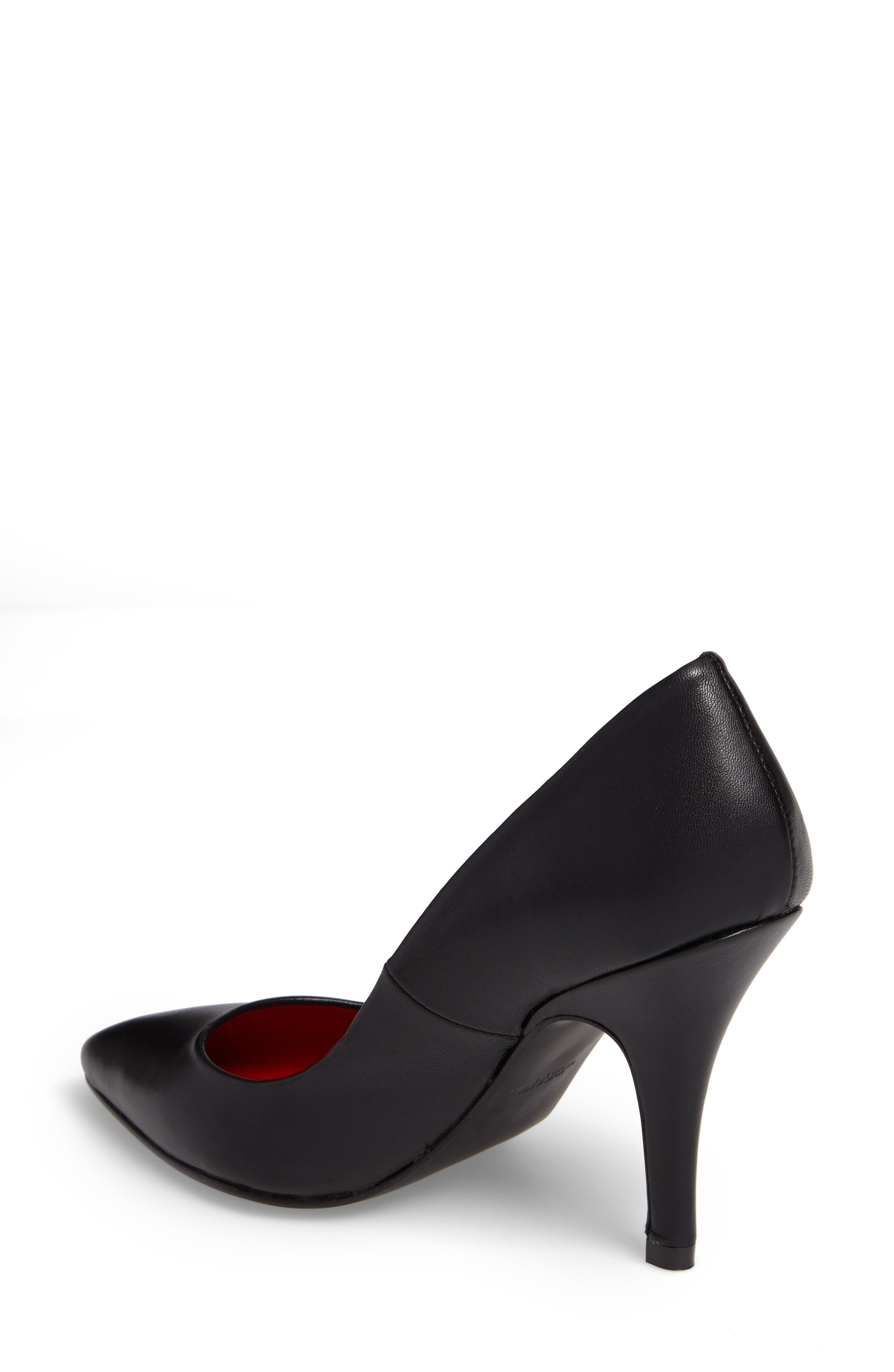 Sachi Pointy Toe Pump,                             Alternate thumbnail 2, color,                             001