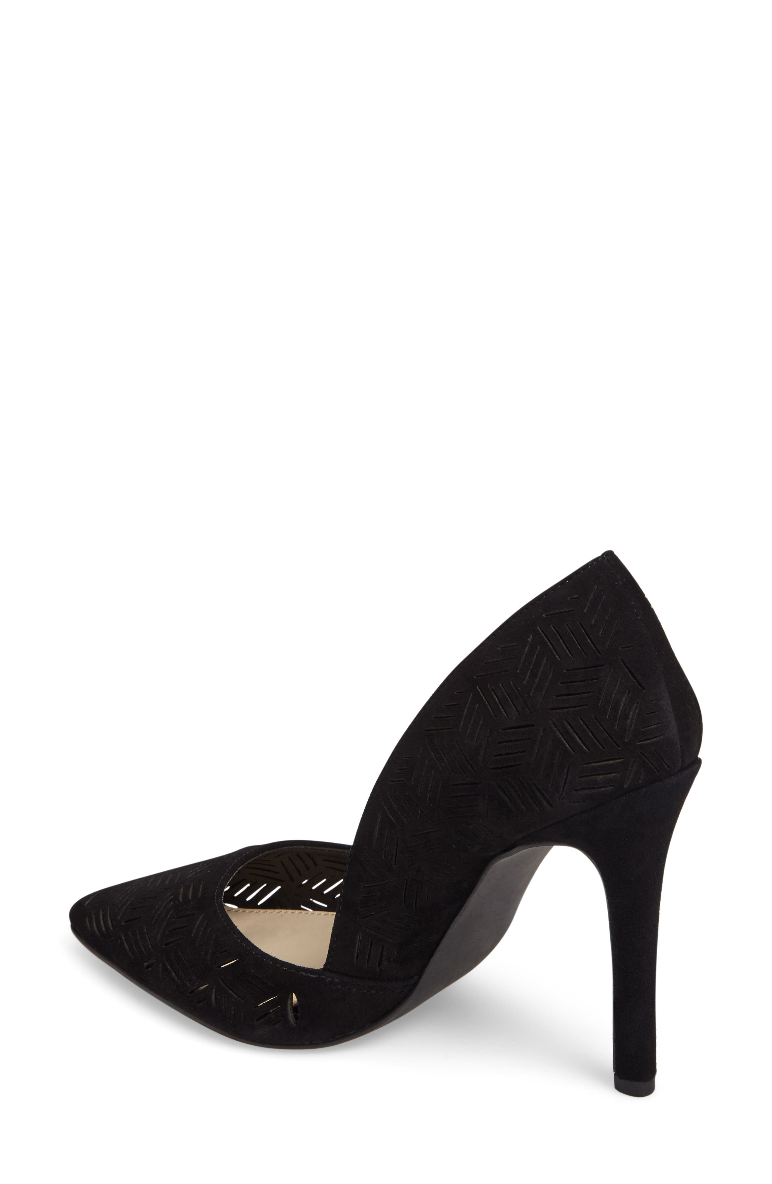 Charie Pointy Toe d'Orsay Pump,                             Alternate thumbnail 2, color,                             001