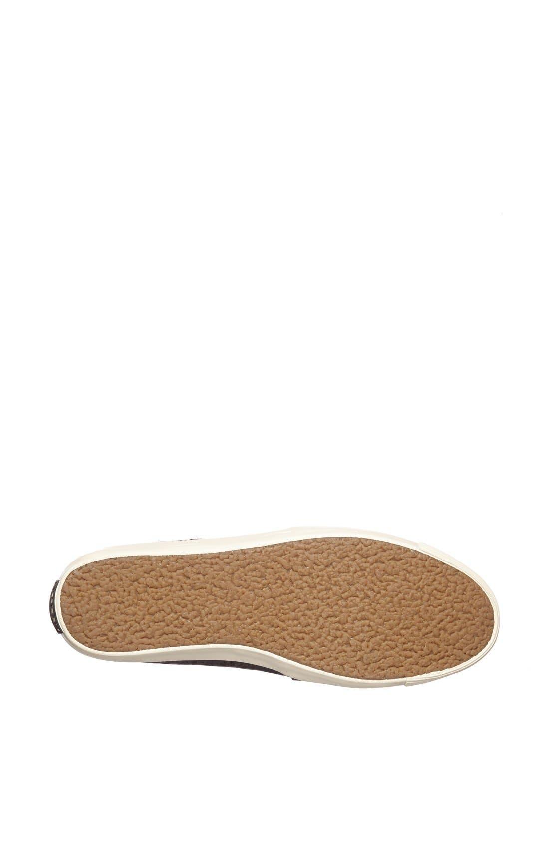 AERIN,                             'Murex' Perforated Slip-On Sneaker,                             Alternate thumbnail 3, color,                             001