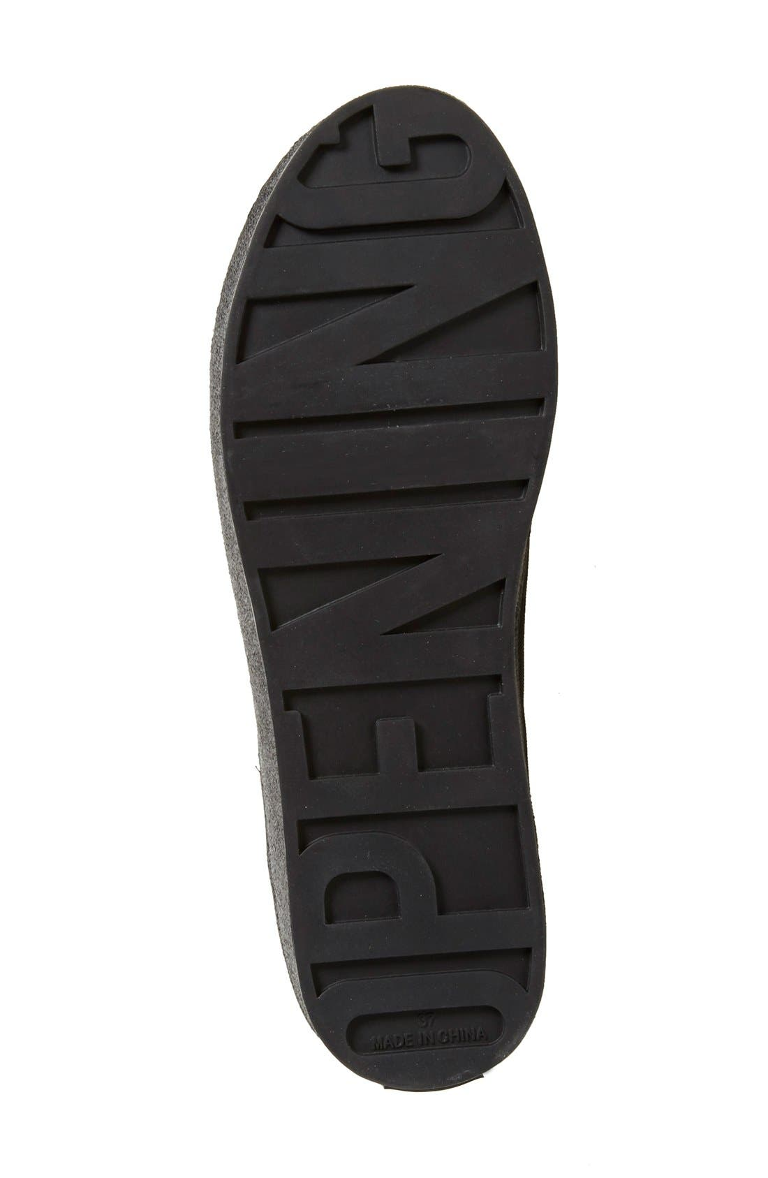 Cici Platform Sneaker,                             Alternate thumbnail 4, color,                             001