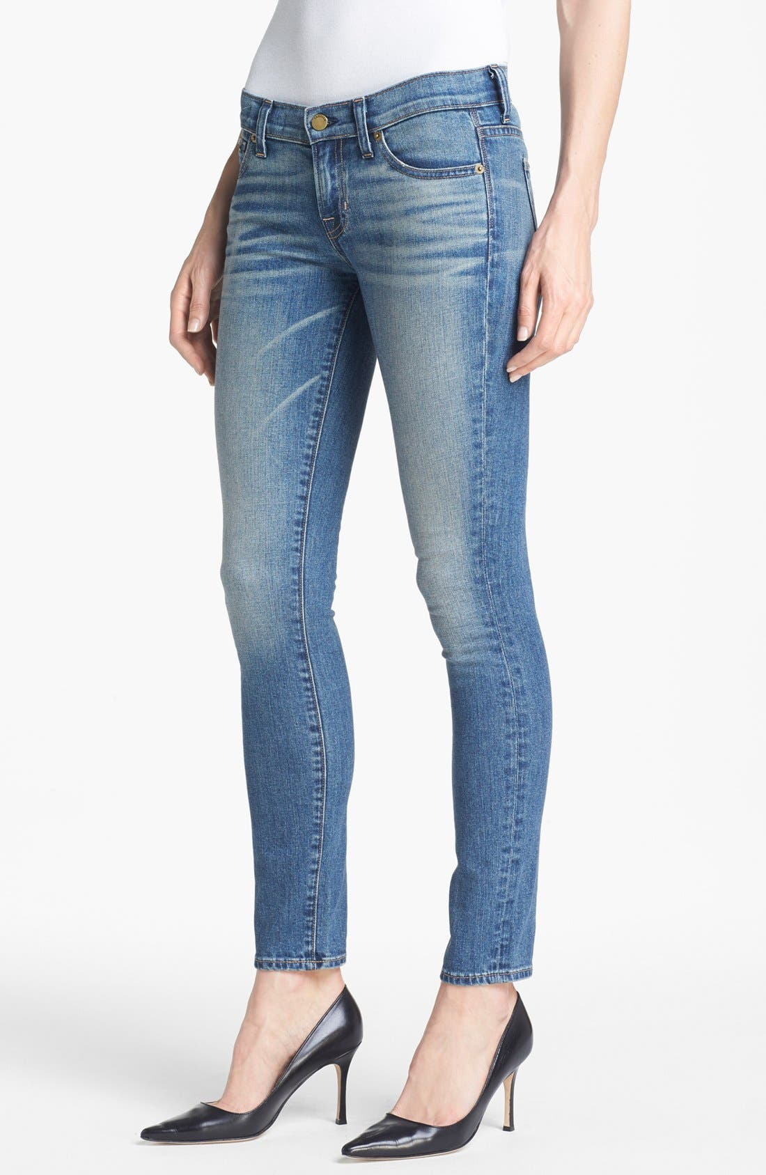 'Debbie' Skinny Jeans,                             Main thumbnail 1, color,                             065