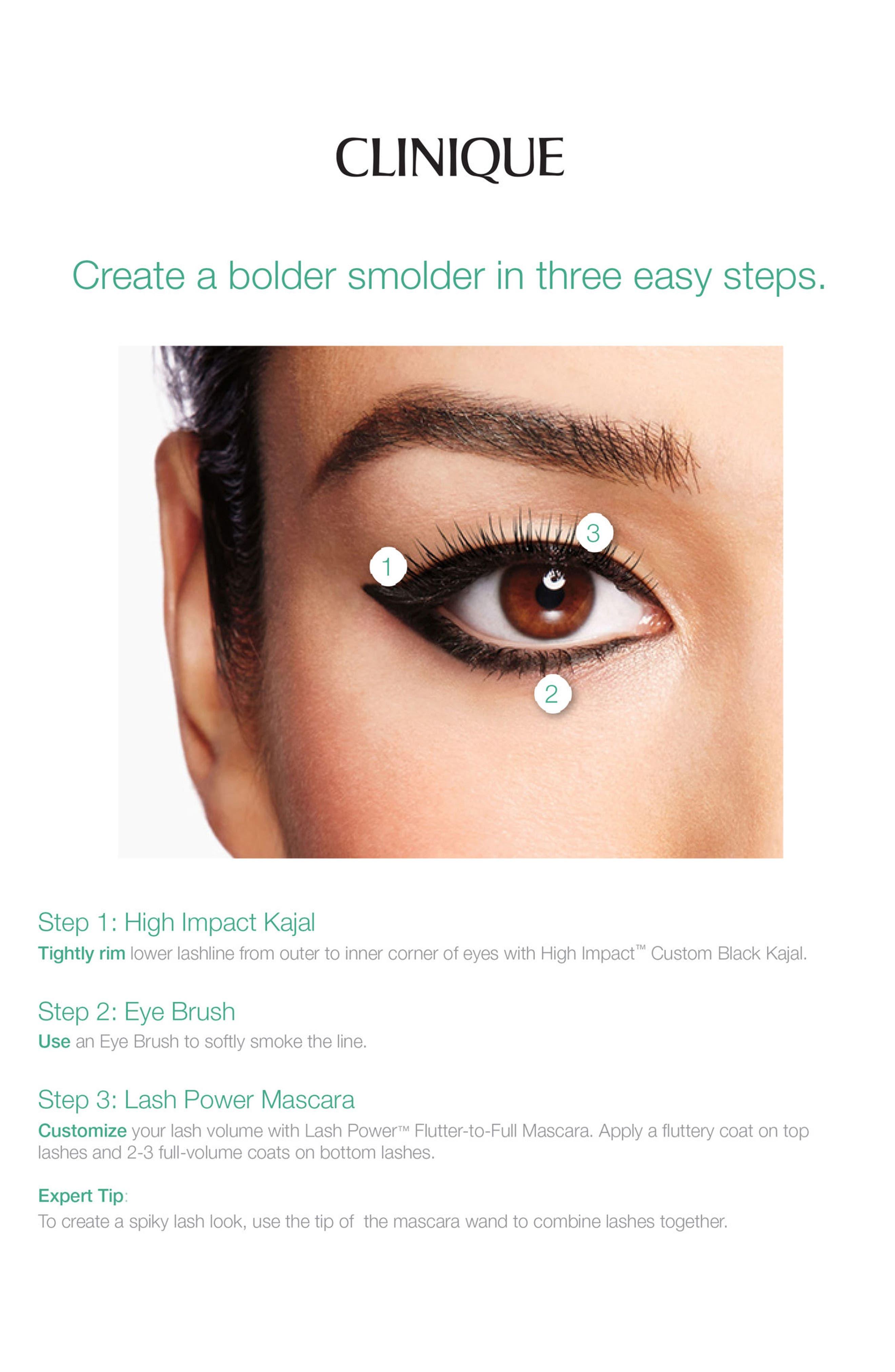 Lash Power Flutter-to-Full Mascara,                             Alternate thumbnail 6, color,                             001