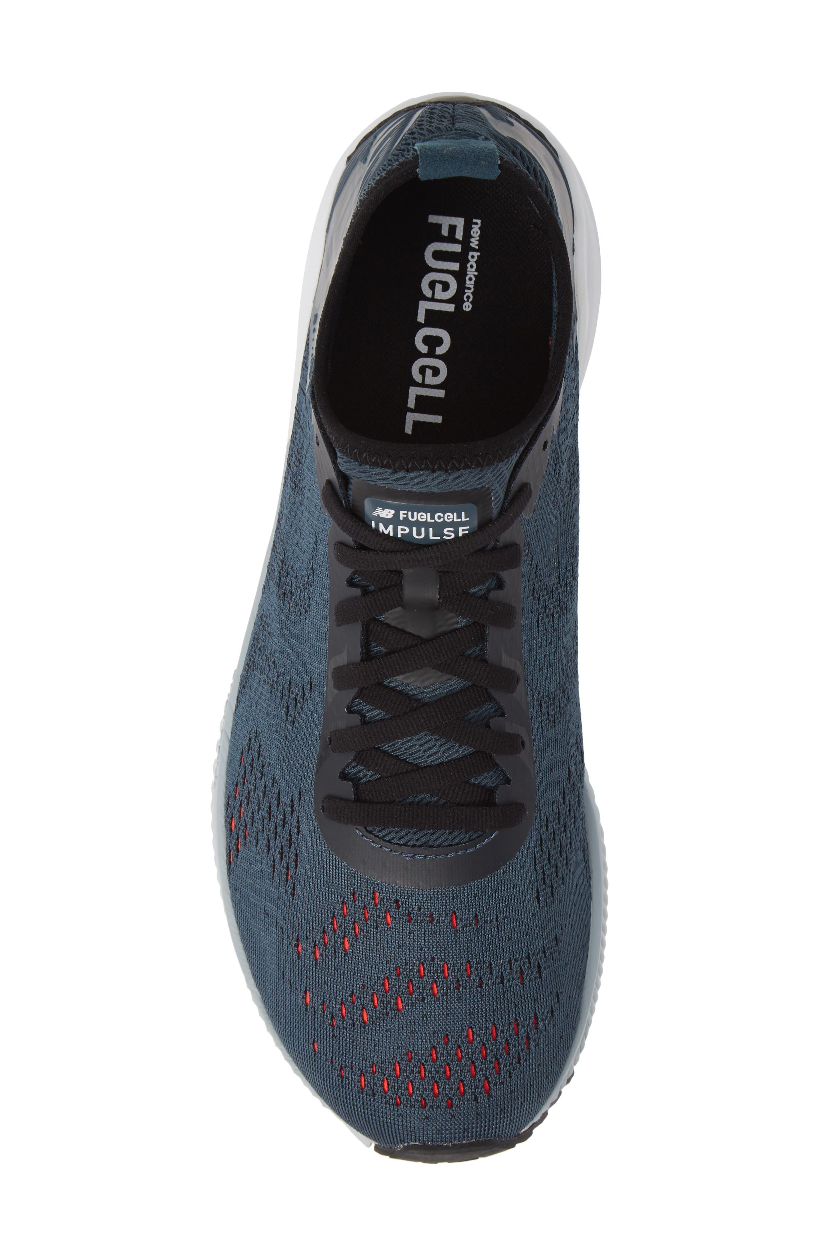 FuelCell Impulse Running Shoe,                             Alternate thumbnail 5, color,                             PETROL
