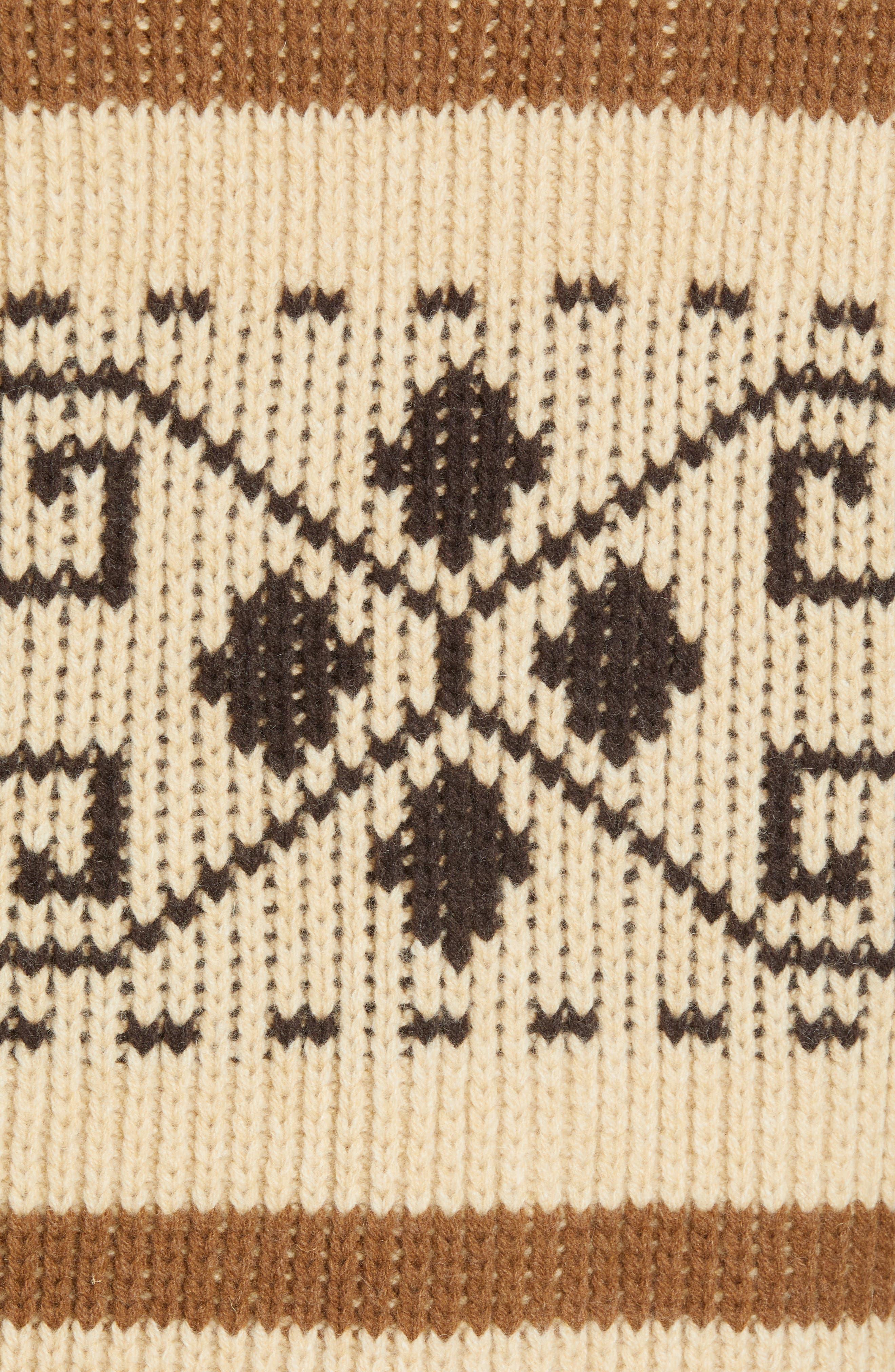 Original Westerley Sweater Vest,                             Alternate thumbnail 6, color,                             TAN/ BROWN