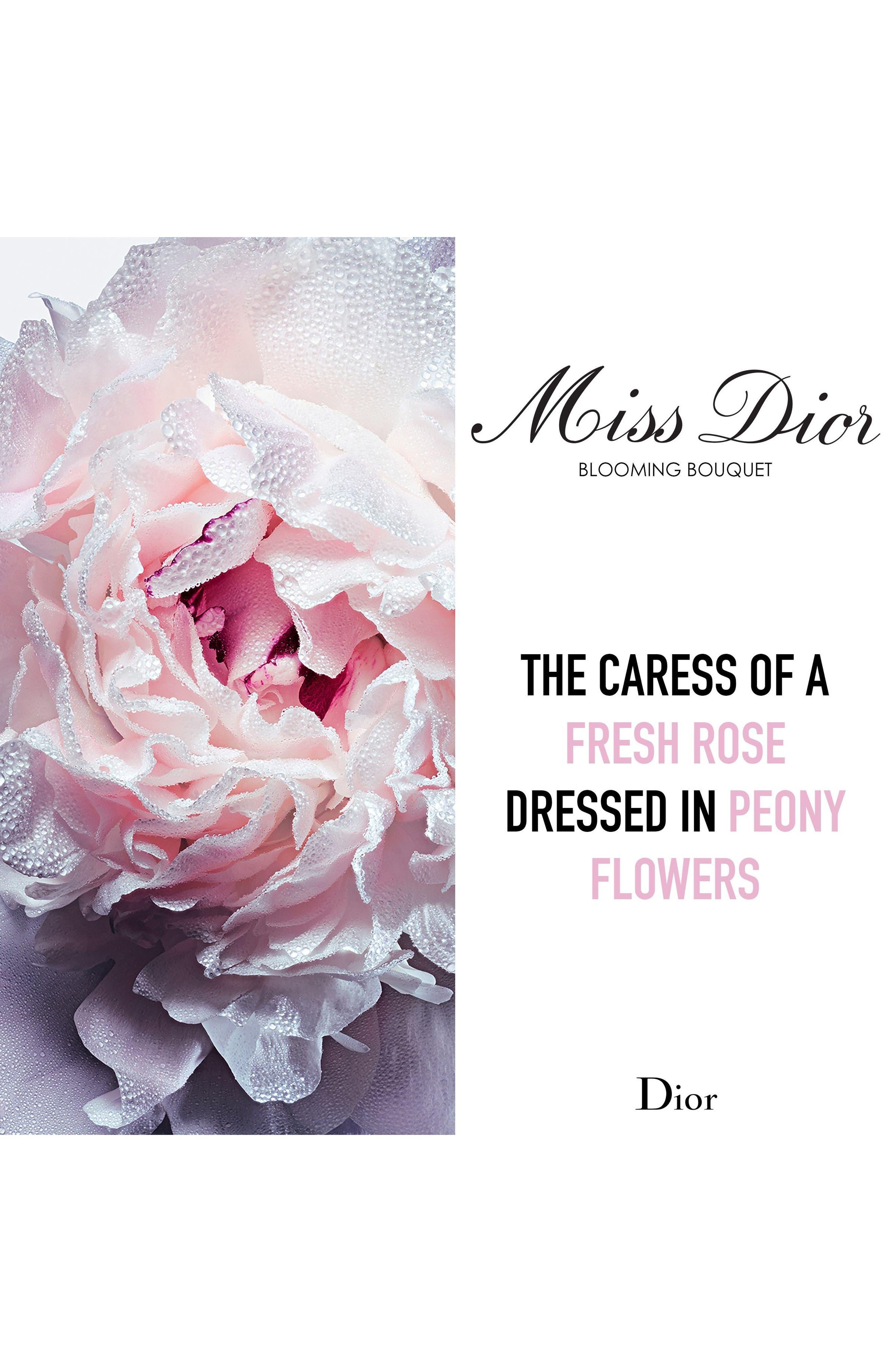 Miss Dior Blooming Bouquet Eau de Toilette,                             Alternate thumbnail 5, color,                             NO COLOR