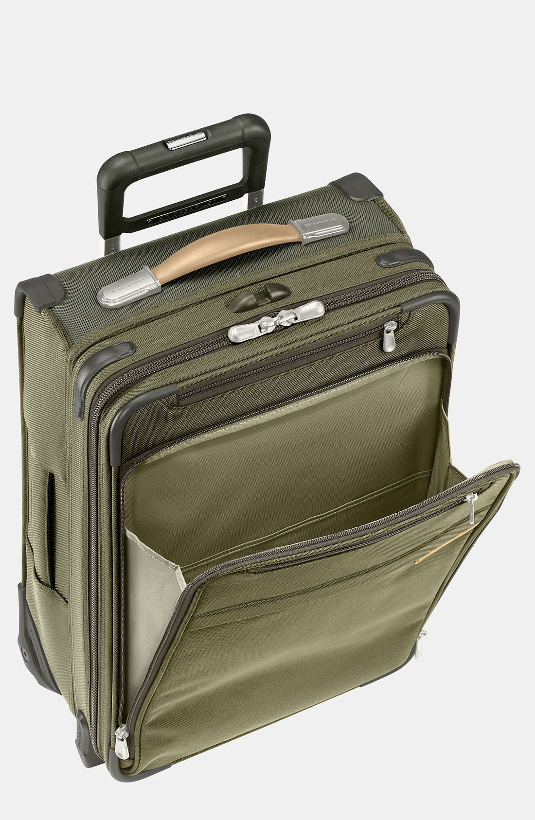 'Baseline - Commuter' Rolling Carry-On,                             Main thumbnail 1, color,                             OLIVE