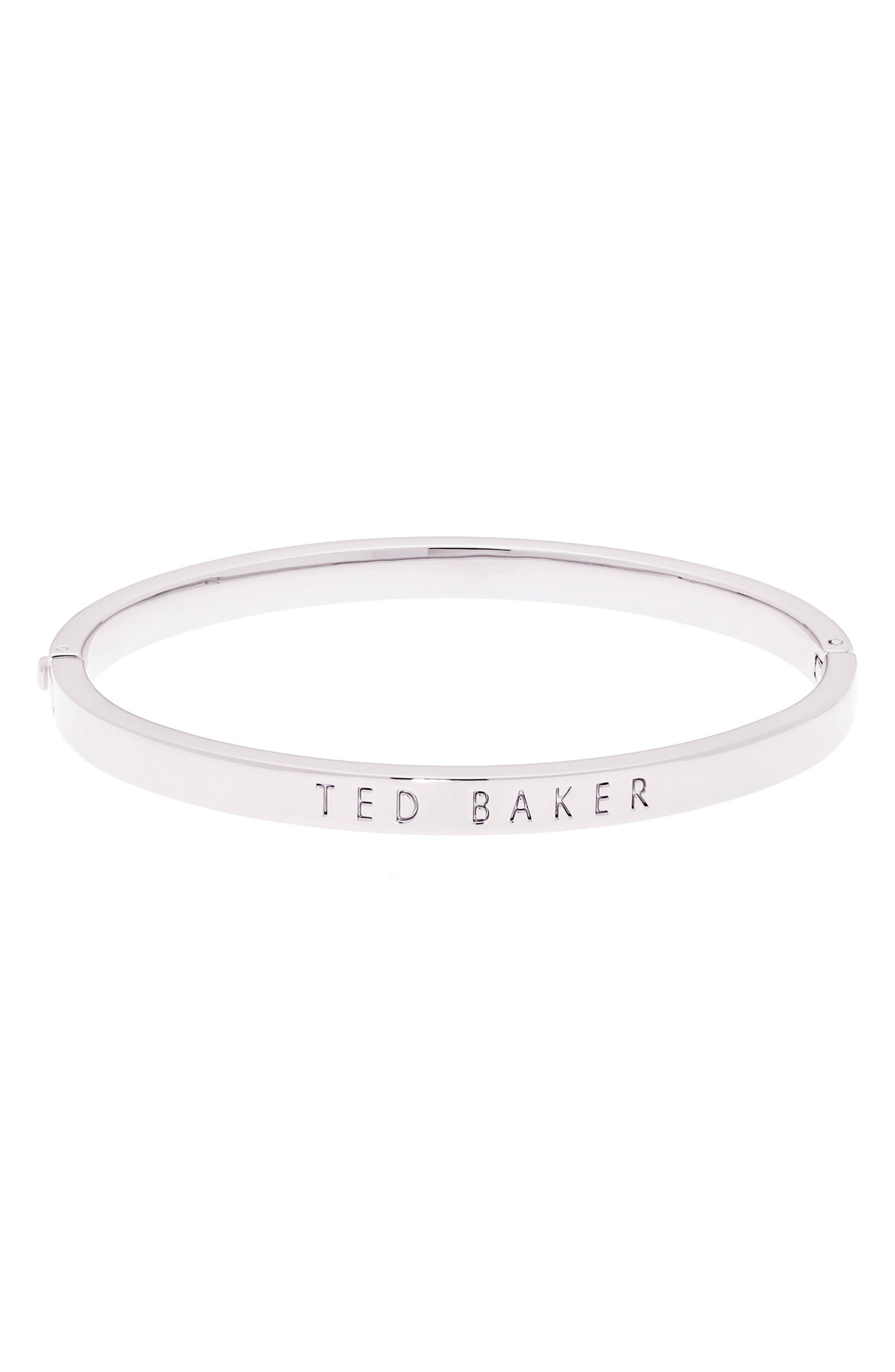 Metallic Hinge Bangle Bracelet,                         Main,                         color,