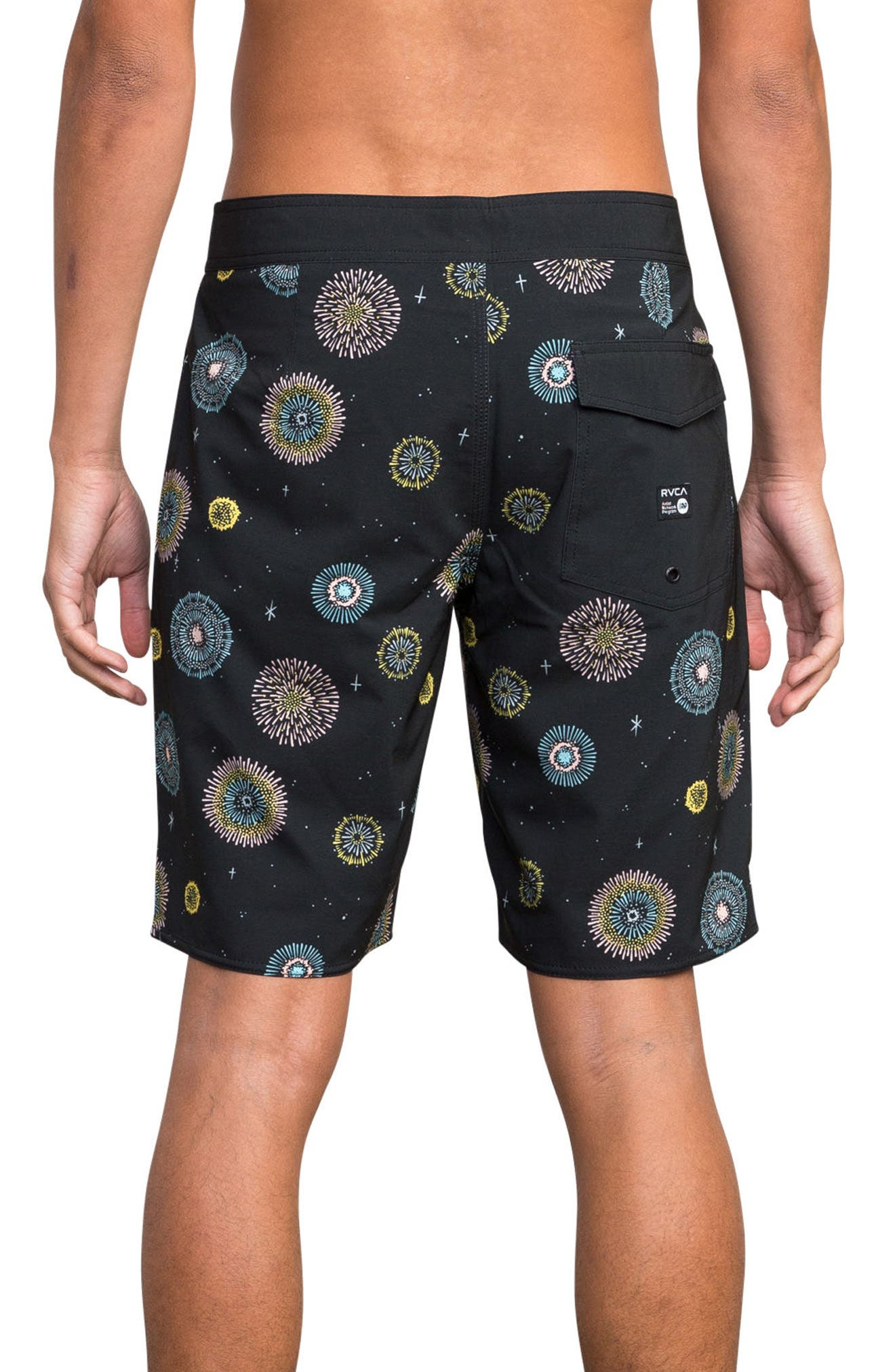 Pelletier Board Shorts,                             Alternate thumbnail 2, color,                             BLACK