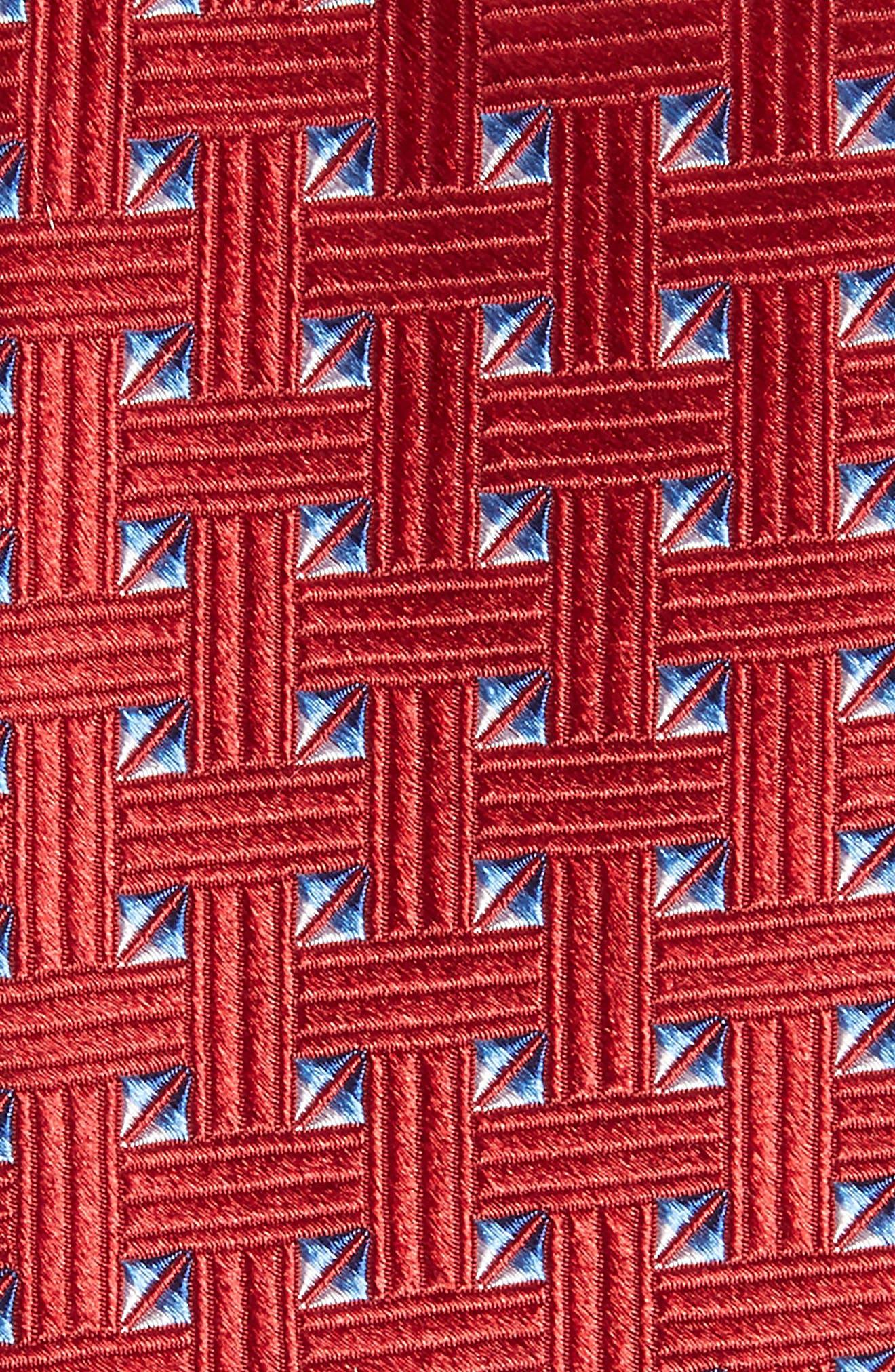 Geometric Silk Tie,                             Alternate thumbnail 11, color,