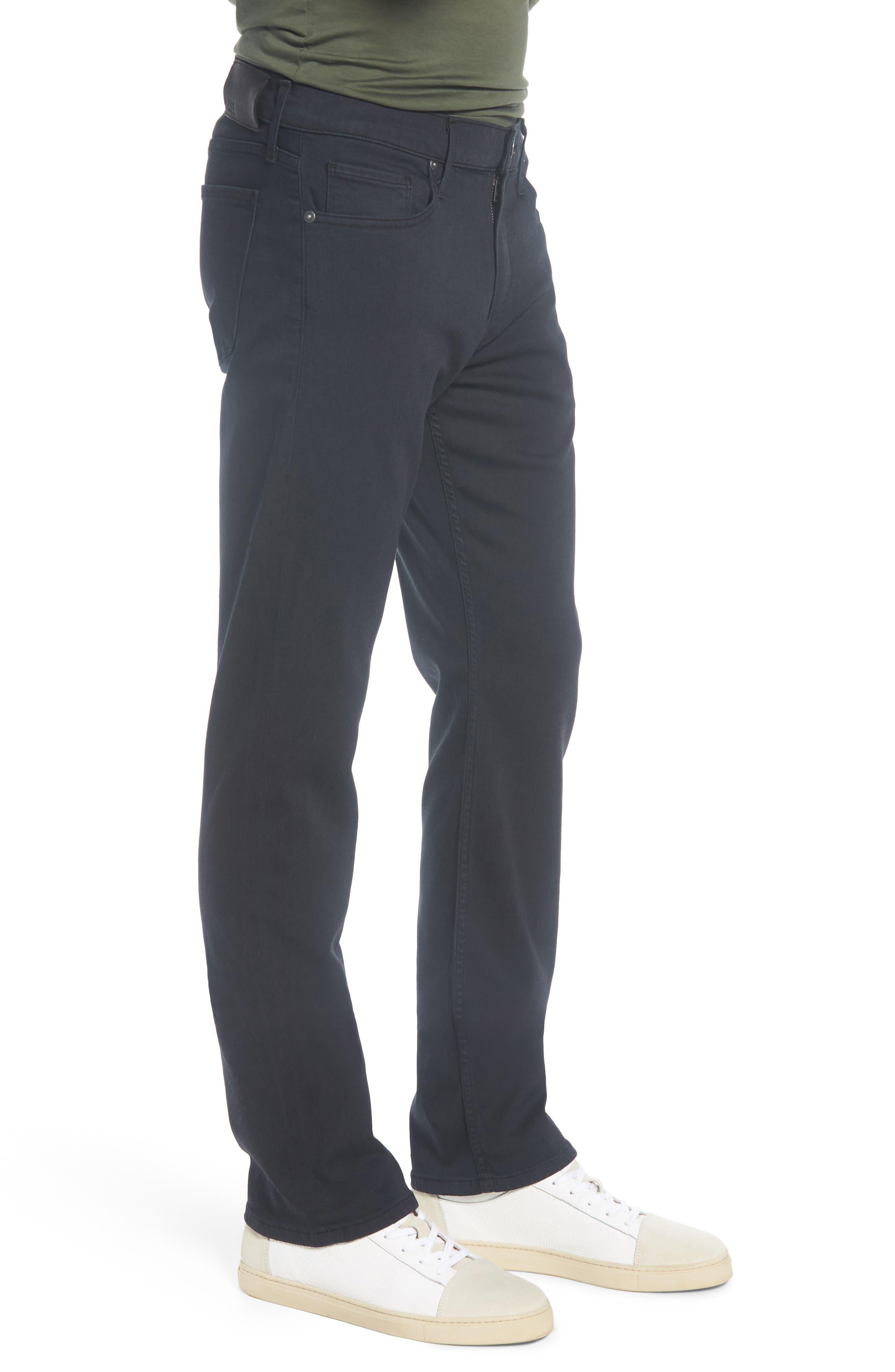 PAIGE,                             Normandie Straight Leg Jeans,                             Alternate thumbnail 3, color,                             400