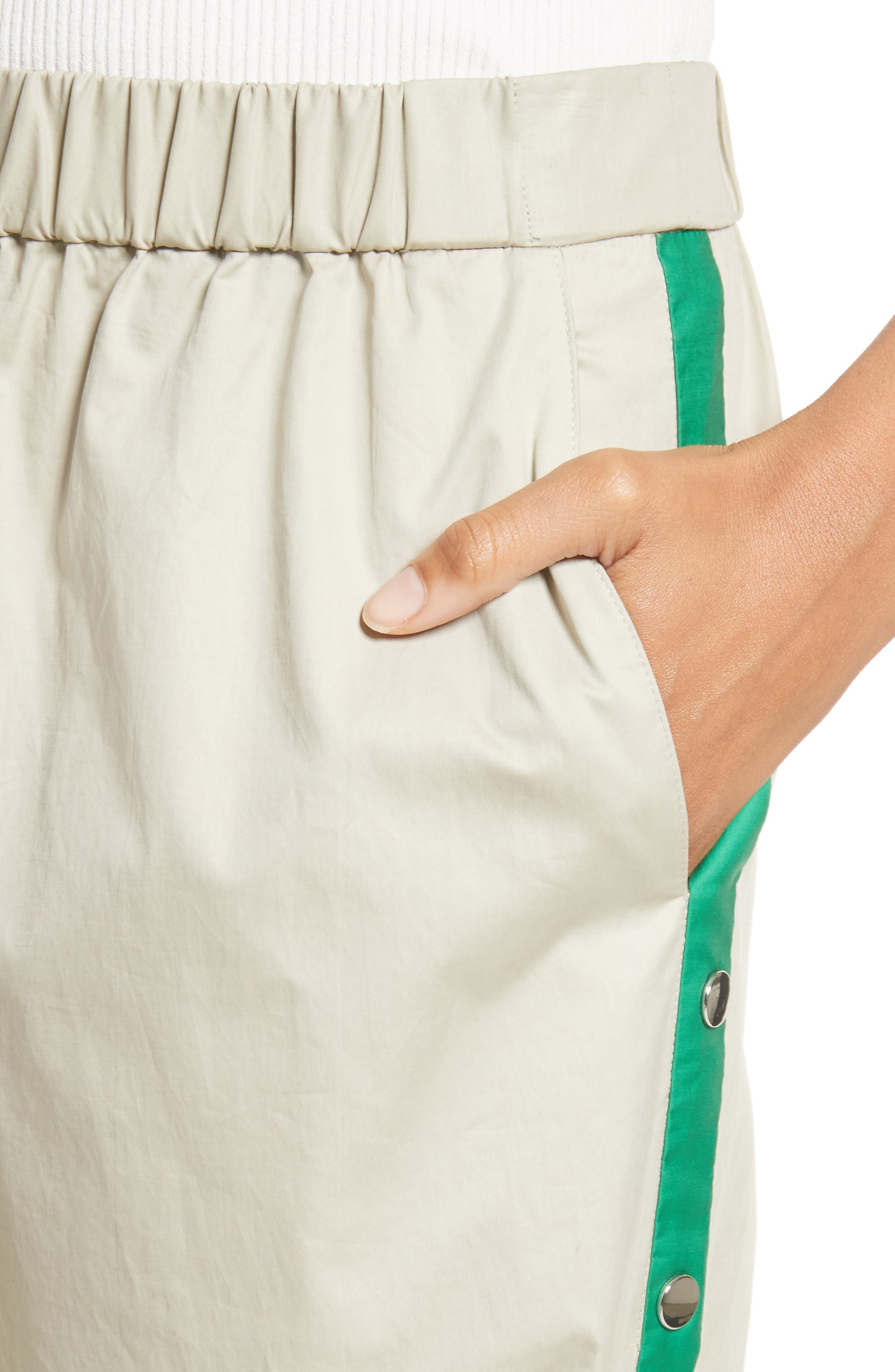 Snap Side Track Pants,                             Alternate thumbnail 7, color,