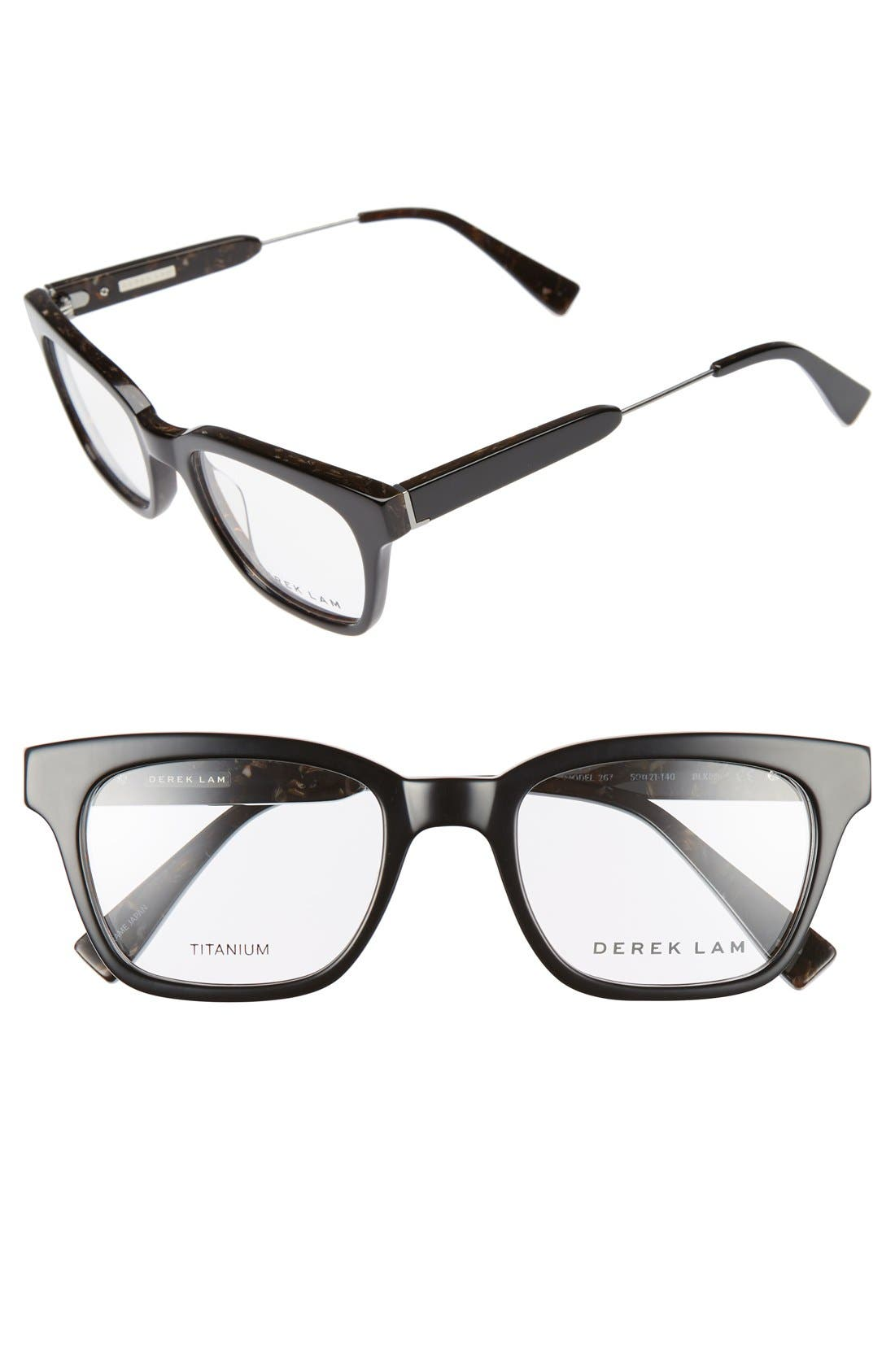50mm Glasses,                             Main thumbnail 1, color,                             001