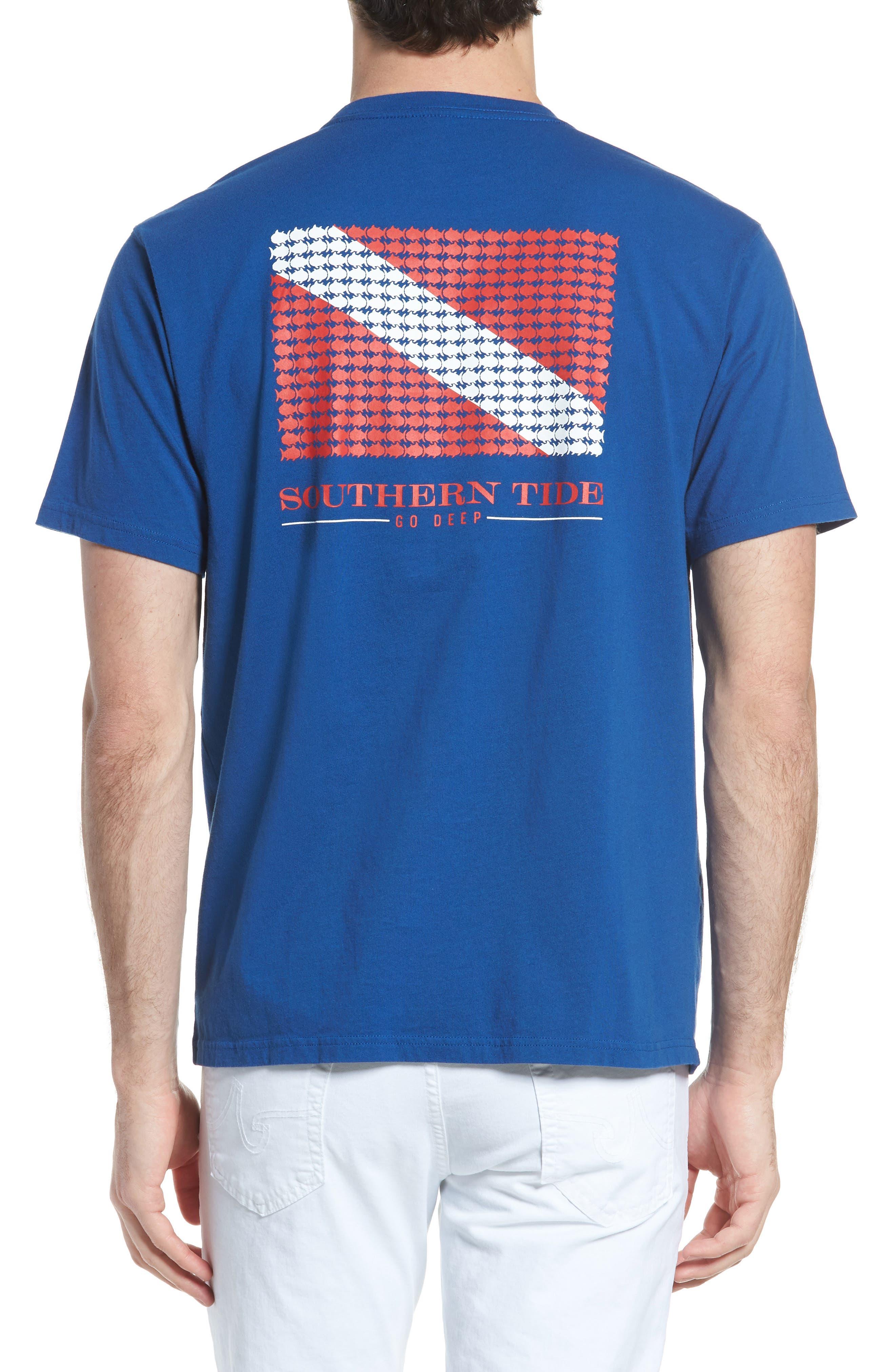 Go Deep Crewneck T-Shirt,                             Alternate thumbnail 2, color,