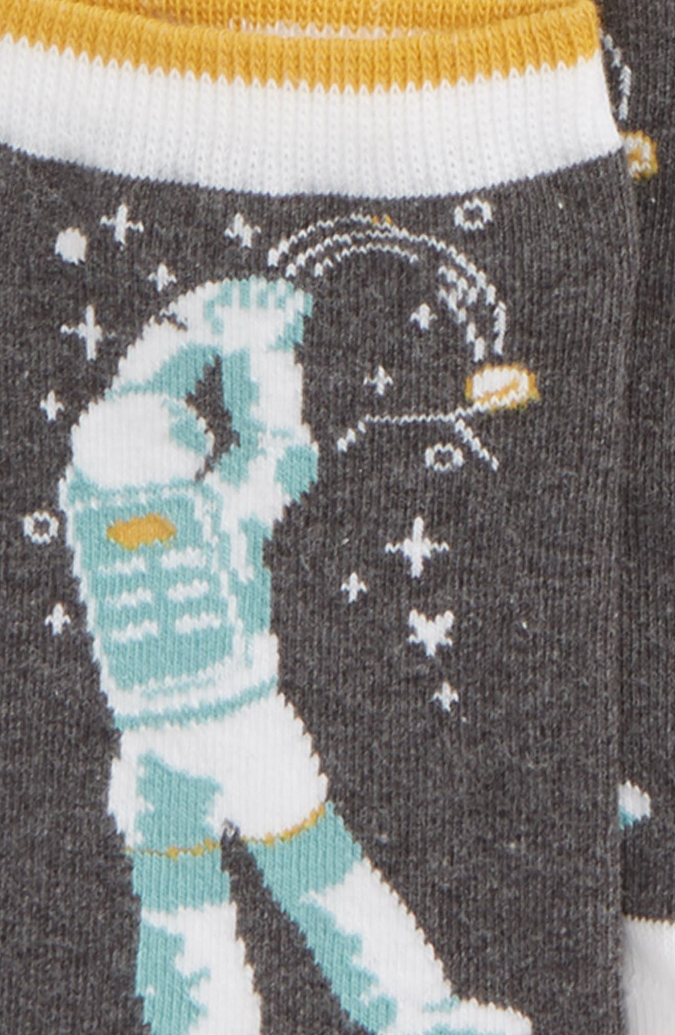 Space 6-Pack Ankle Socks,                             Alternate thumbnail 2, color,                             020