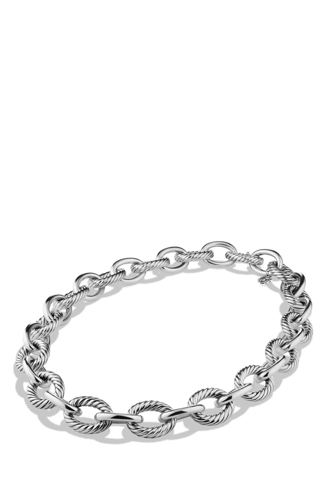 'Oval' Extra-Large Link Necklace,                             Alternate thumbnail 2, color,                             040