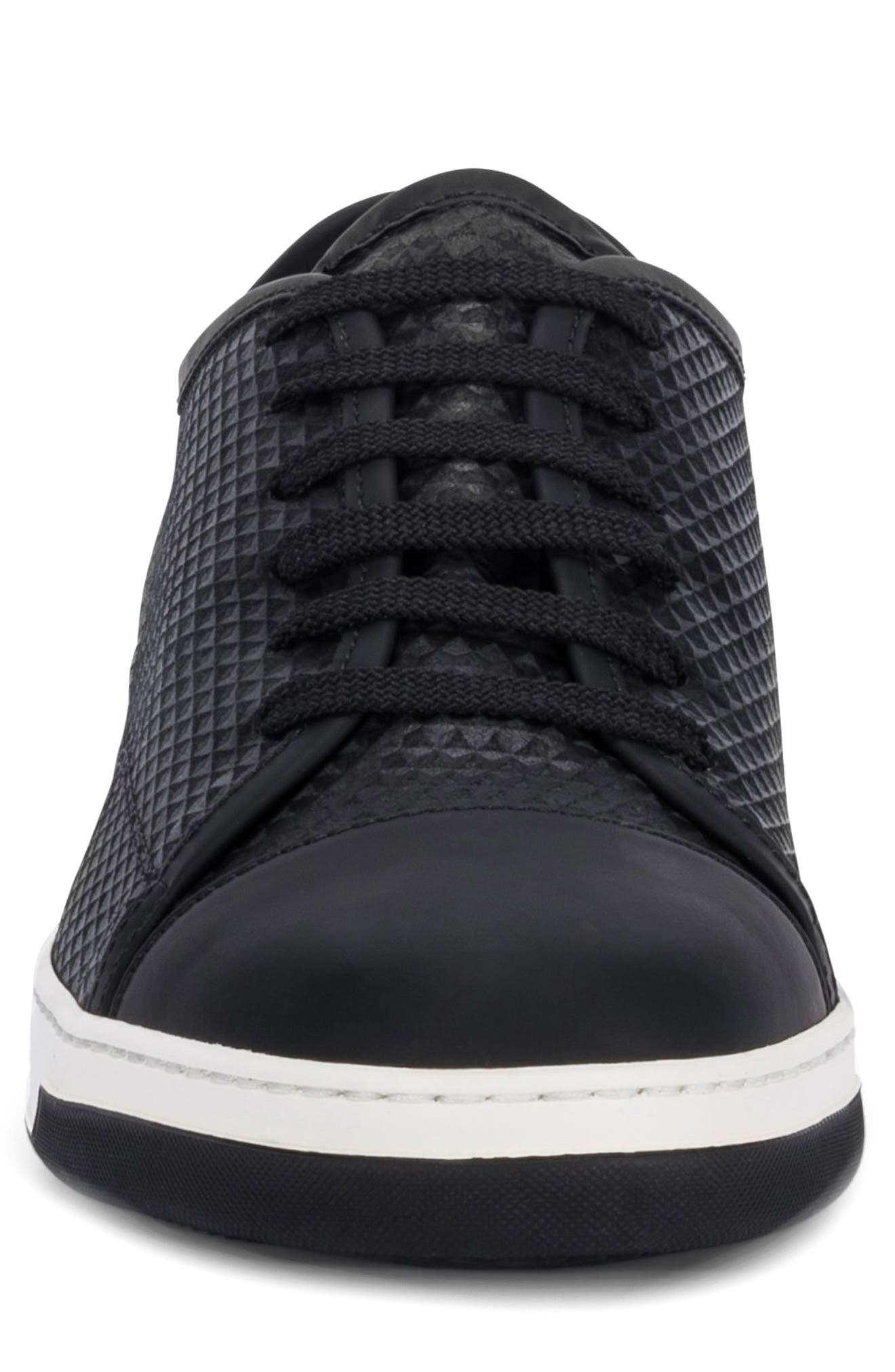 Ischia Sneaker,                             Alternate thumbnail 4, color,                             BLACK