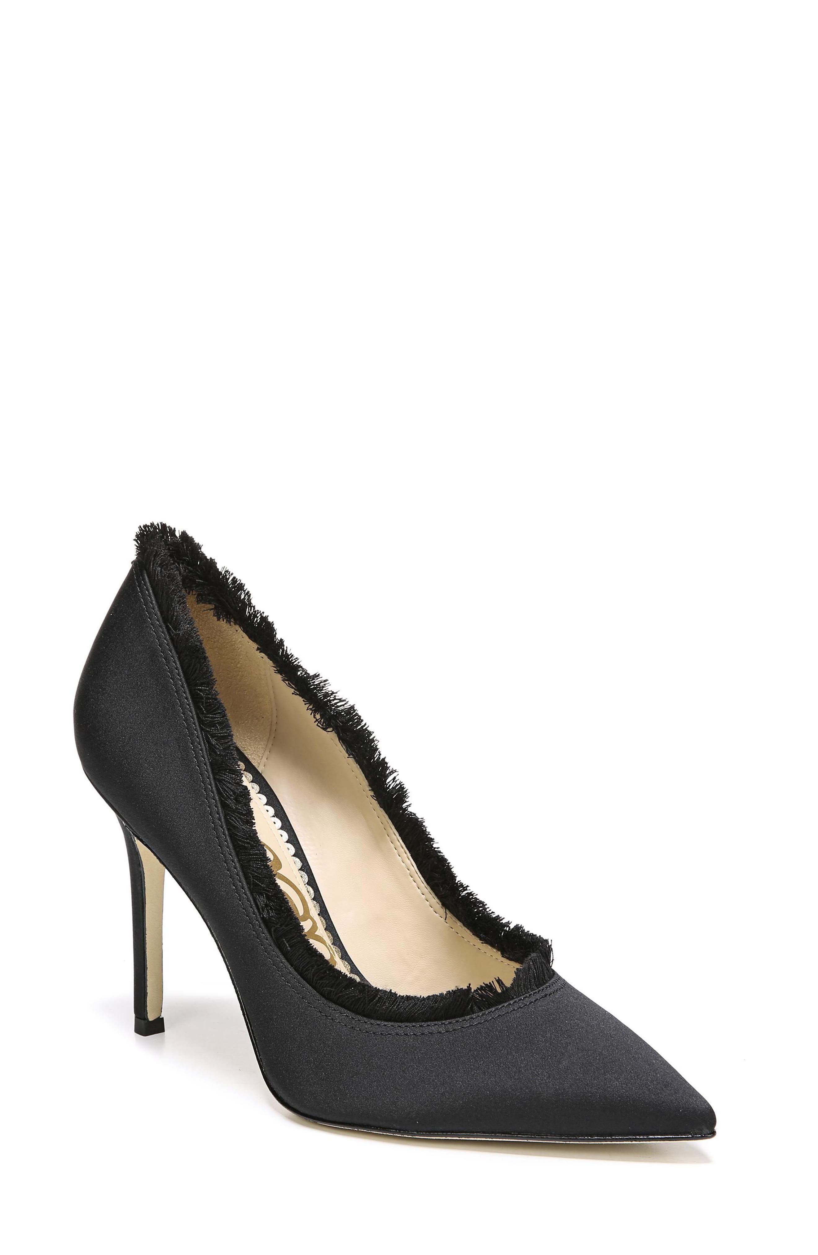 Halan Pointy Toe Pump,                             Main thumbnail 1, color,                             001