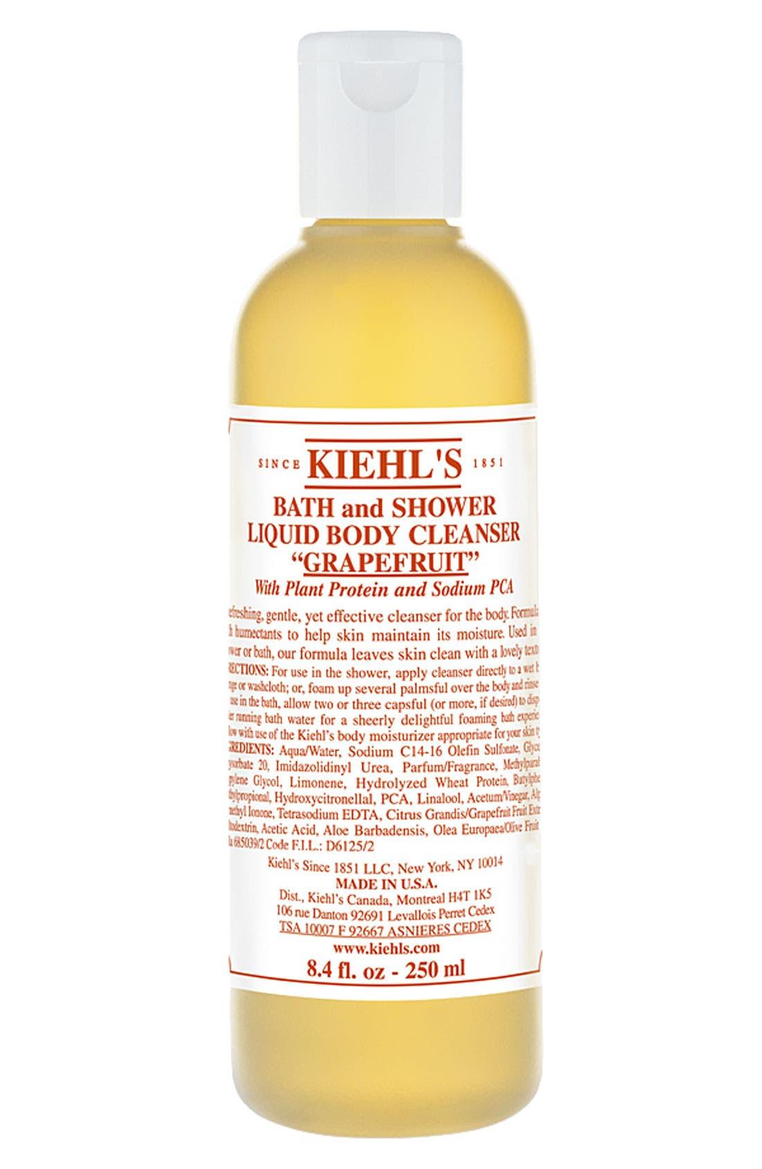 Grapefruit Bath & Shower Liquid Body Cleanser,                             Alternate thumbnail 2, color,                             GRAPEFRUIT