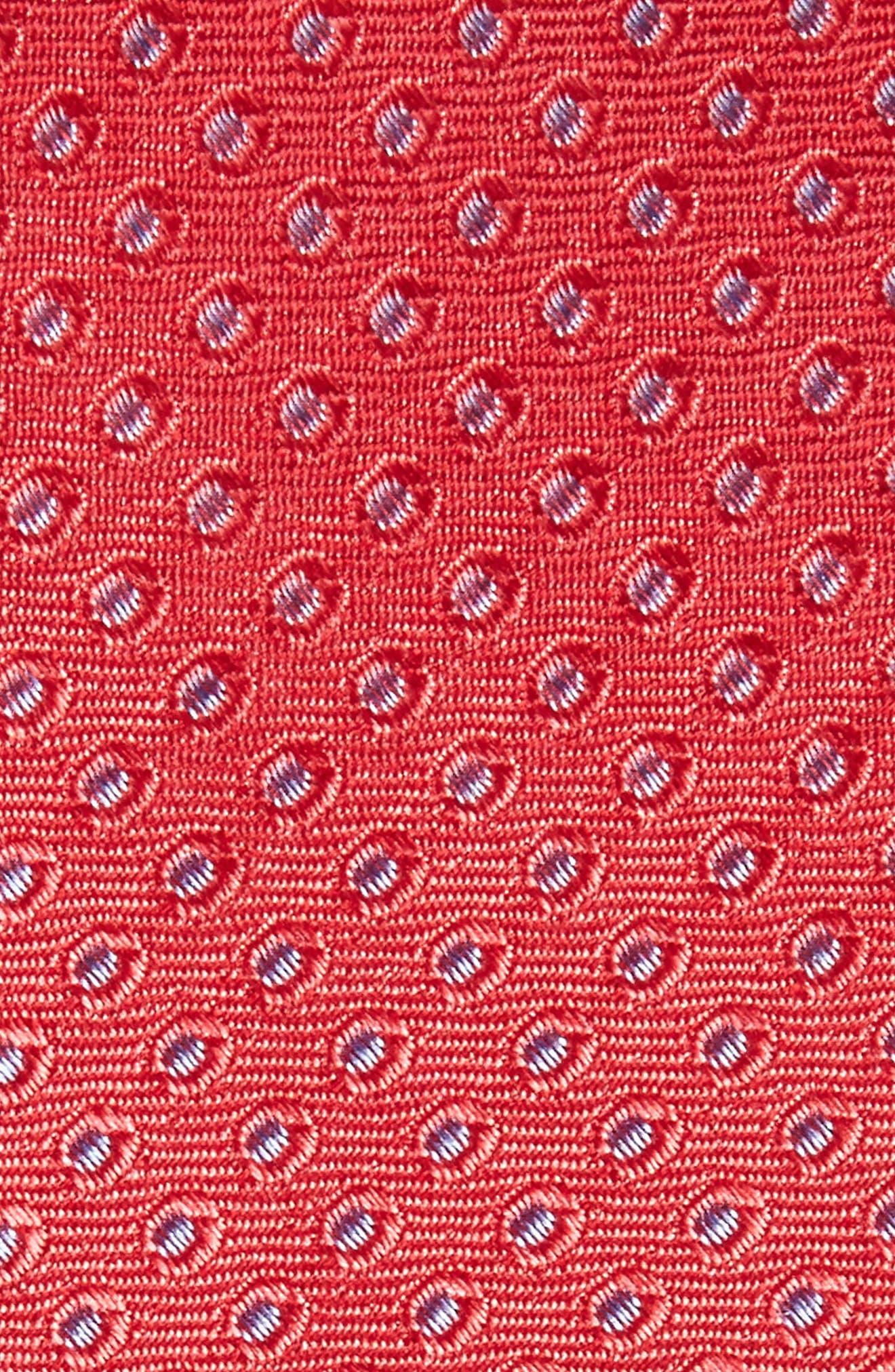 Oxford Dot Silk Tie,                             Alternate thumbnail 13, color,