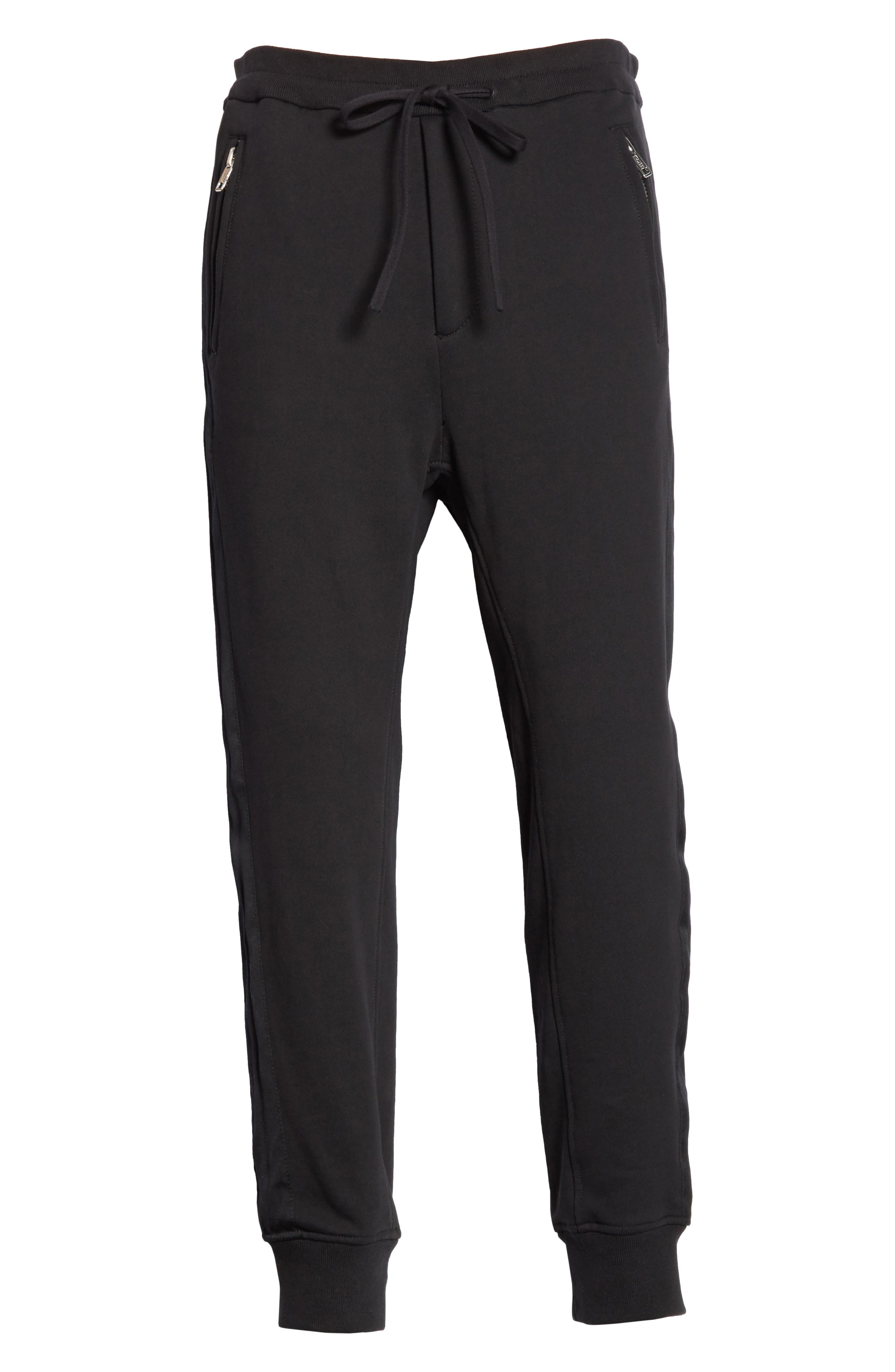 Tapered Sweatpants,                             Alternate thumbnail 6, color,