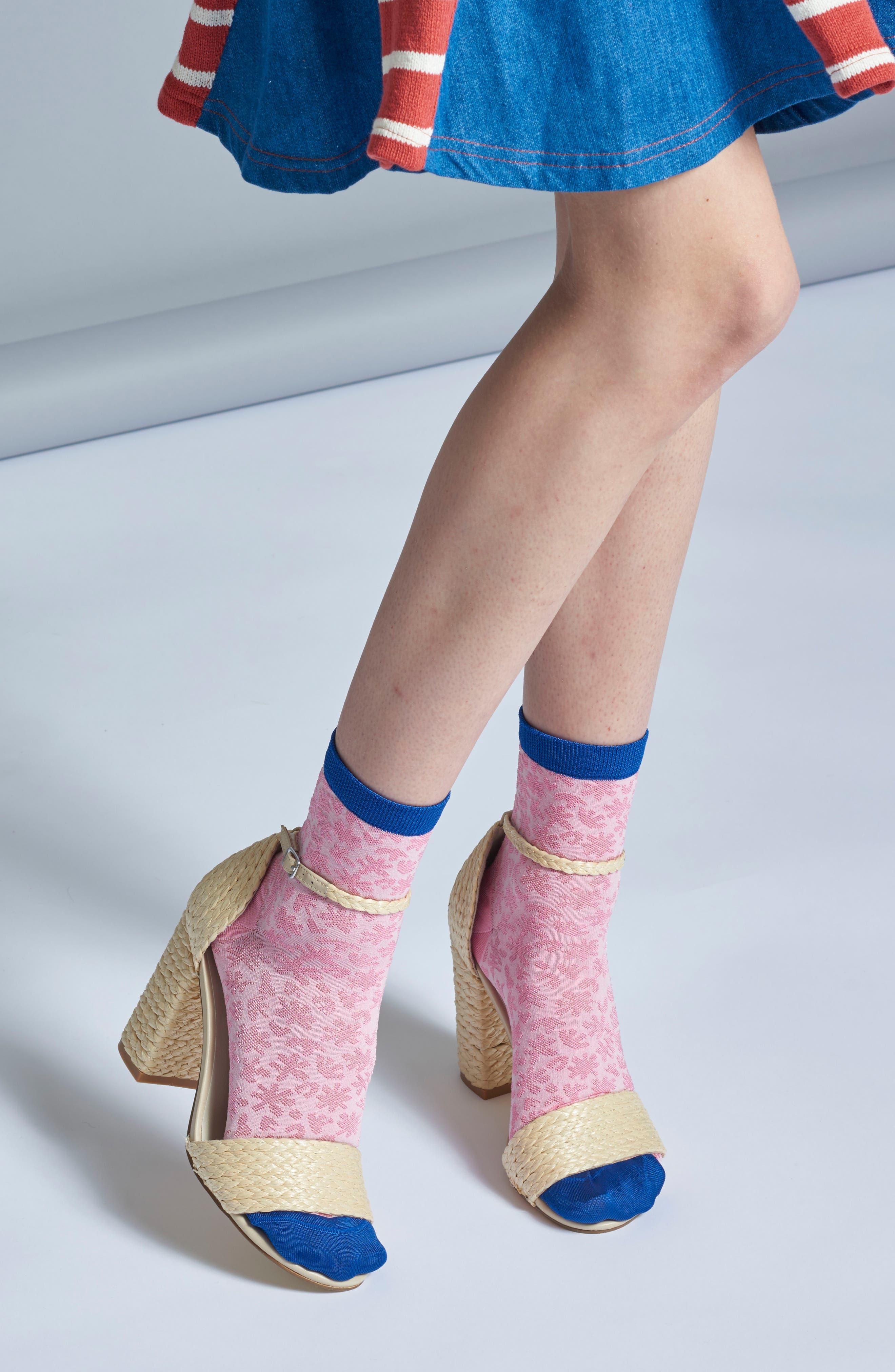 Lotta Ankle Socks,                             Alternate thumbnail 4, color,                             680