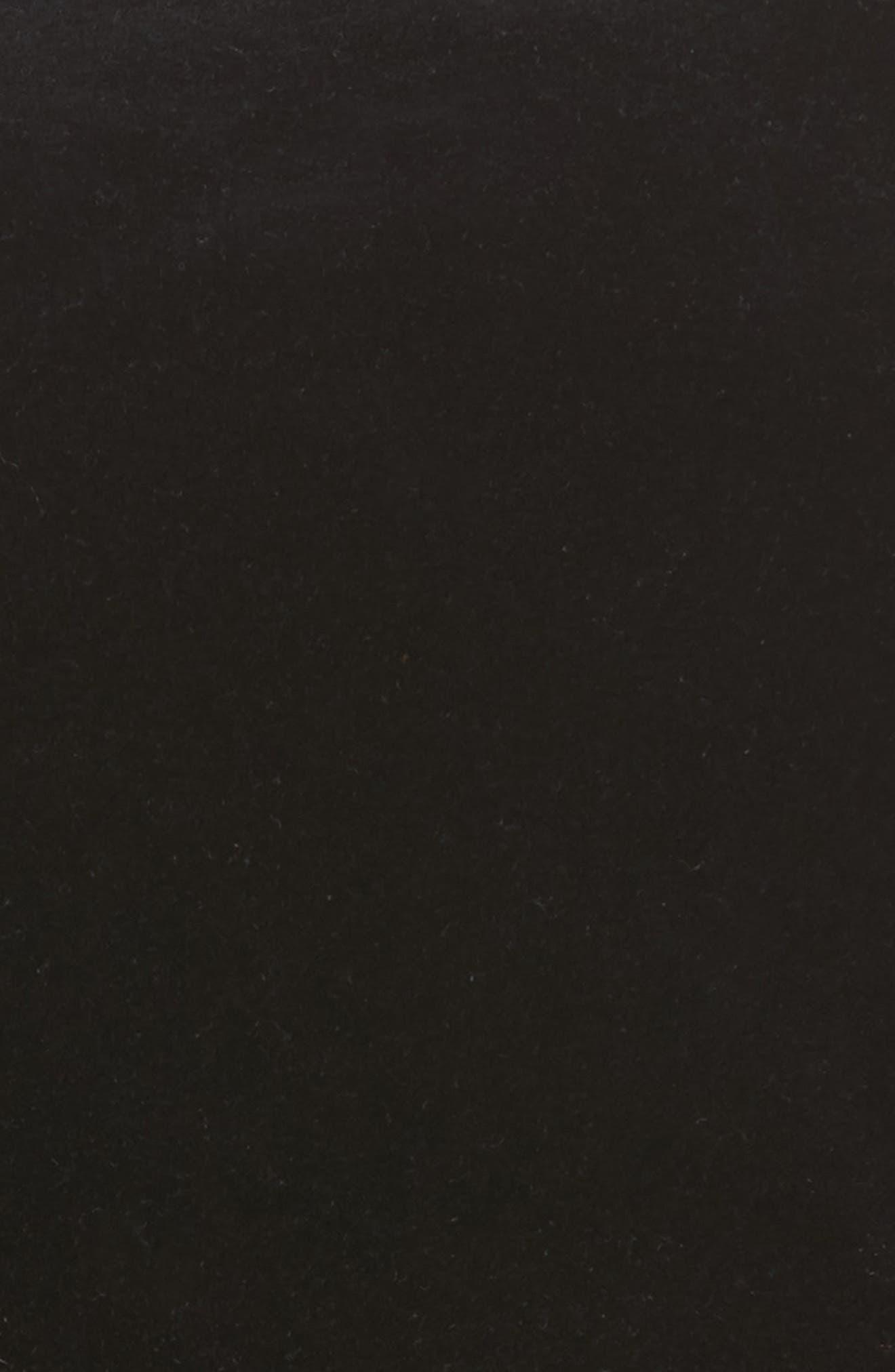 Dive Velvet Miniskirt,                             Alternate thumbnail 5, color,                             001