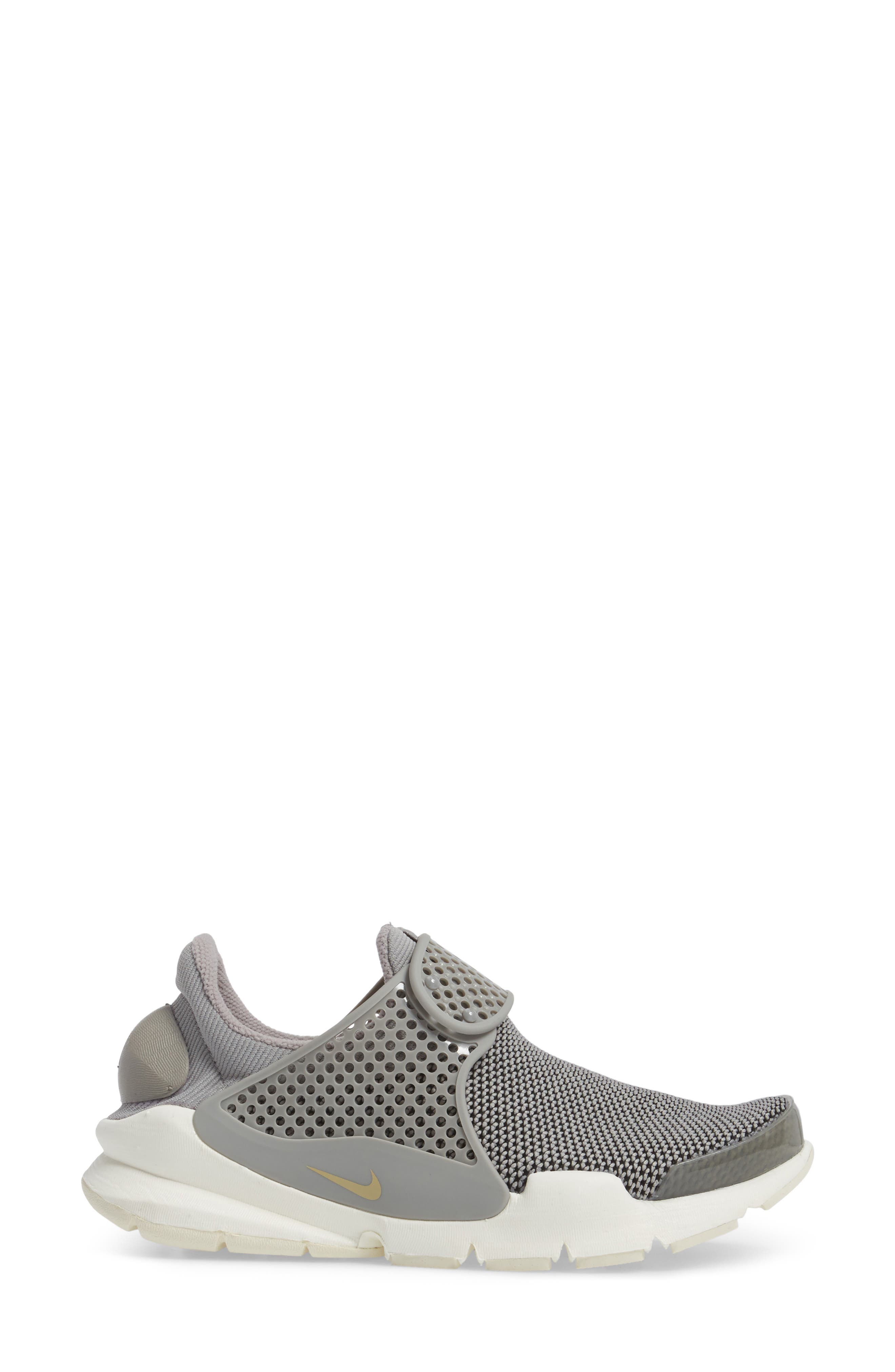 Sock Dart Sneaker,                             Alternate thumbnail 3, color,                             250