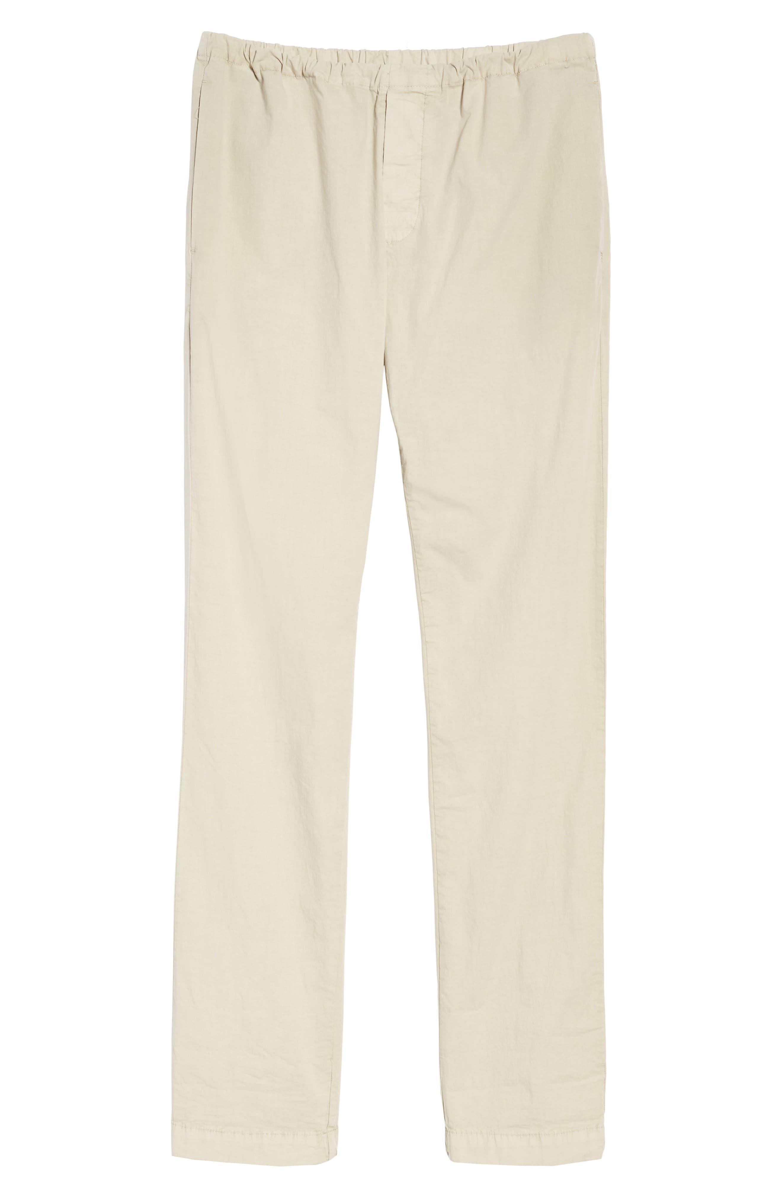 Slim Stretch Poplin Drawcord Pants,                             Alternate thumbnail 24, color,