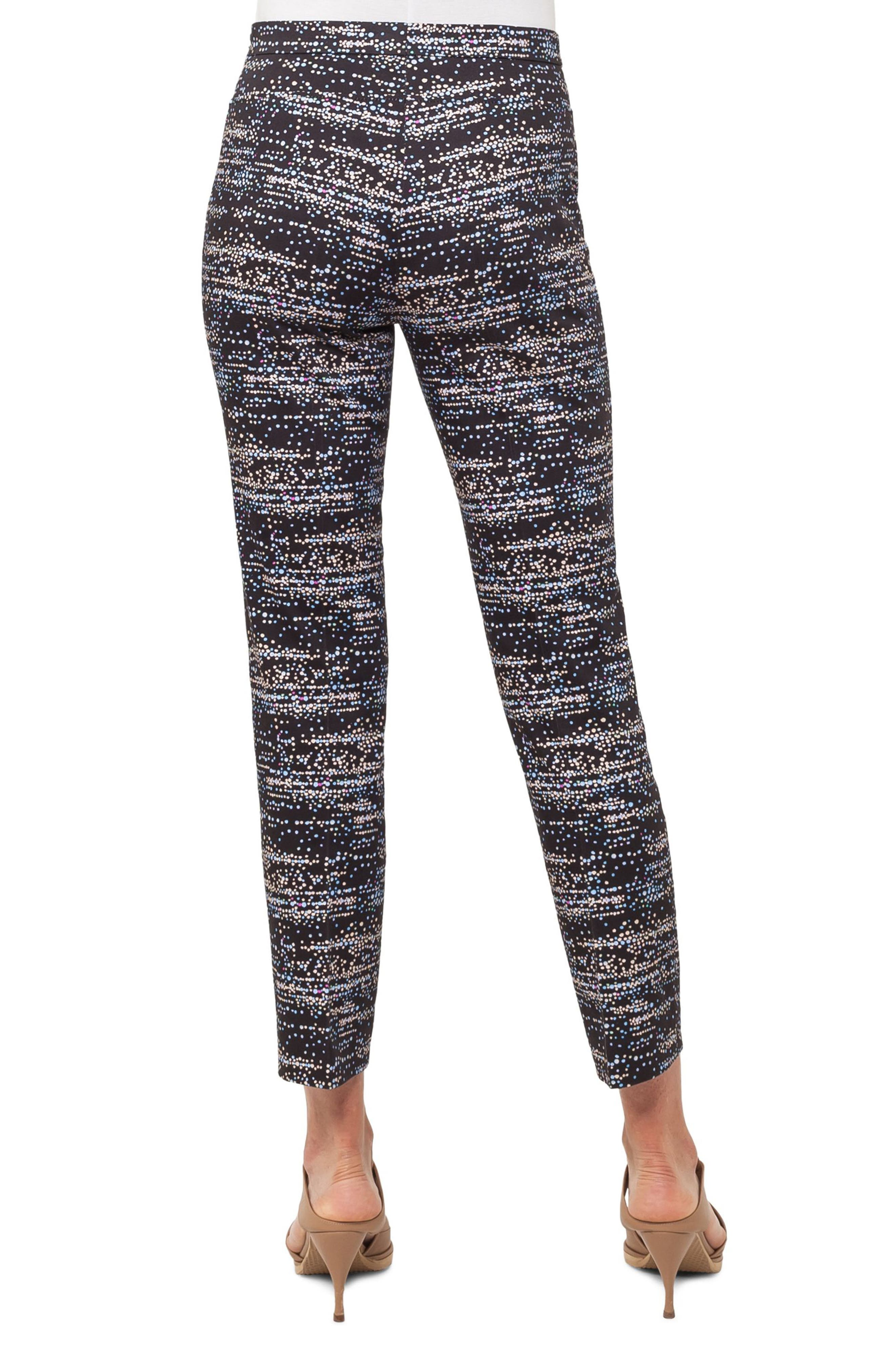 Franca Twilight City Print Ankle Pants,                             Alternate thumbnail 2, color,                             500
