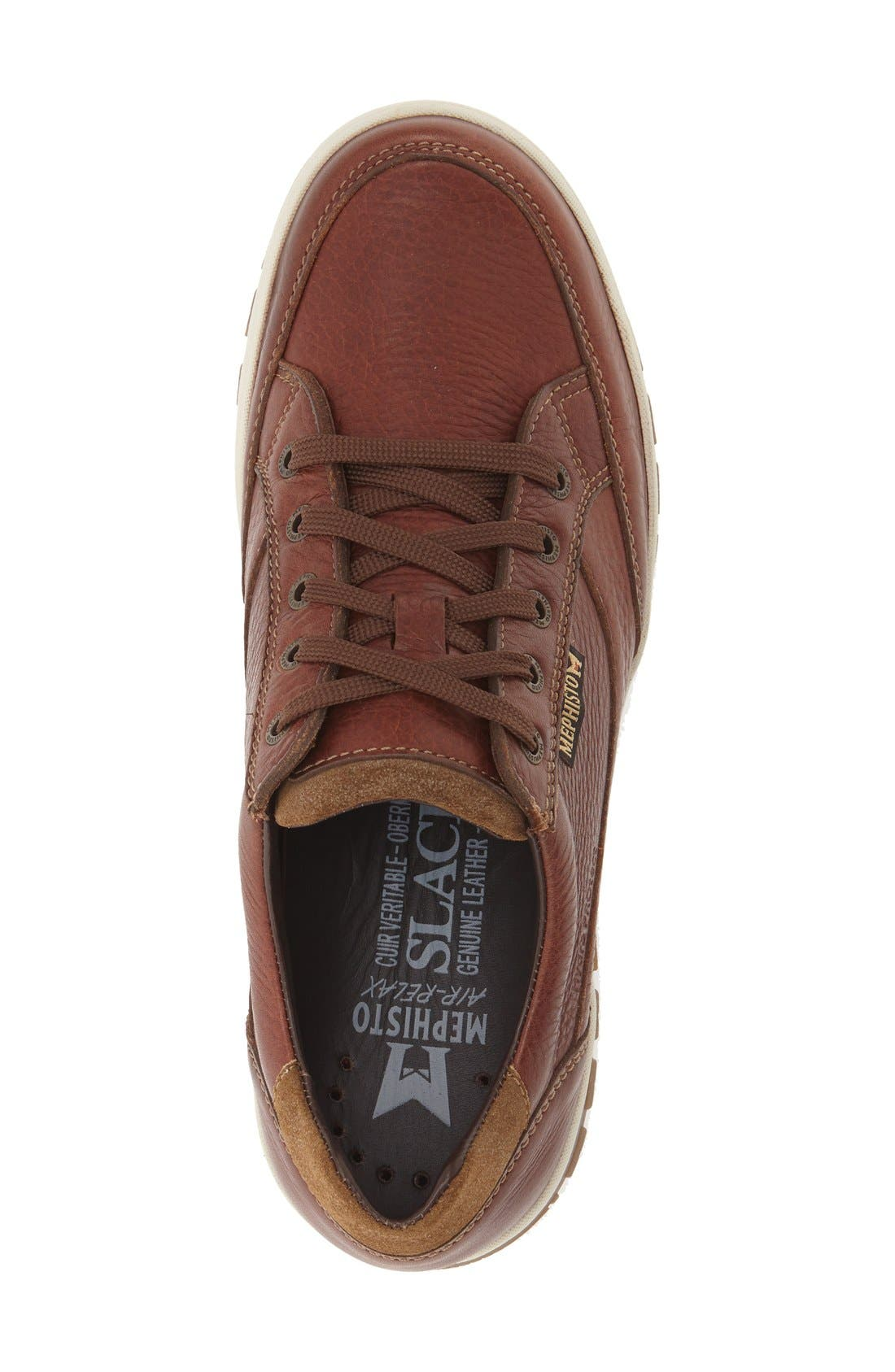 MEPHISTO,                             'Paco' Waterproof Walking Sneaker,                             Alternate thumbnail 4, color,                             217